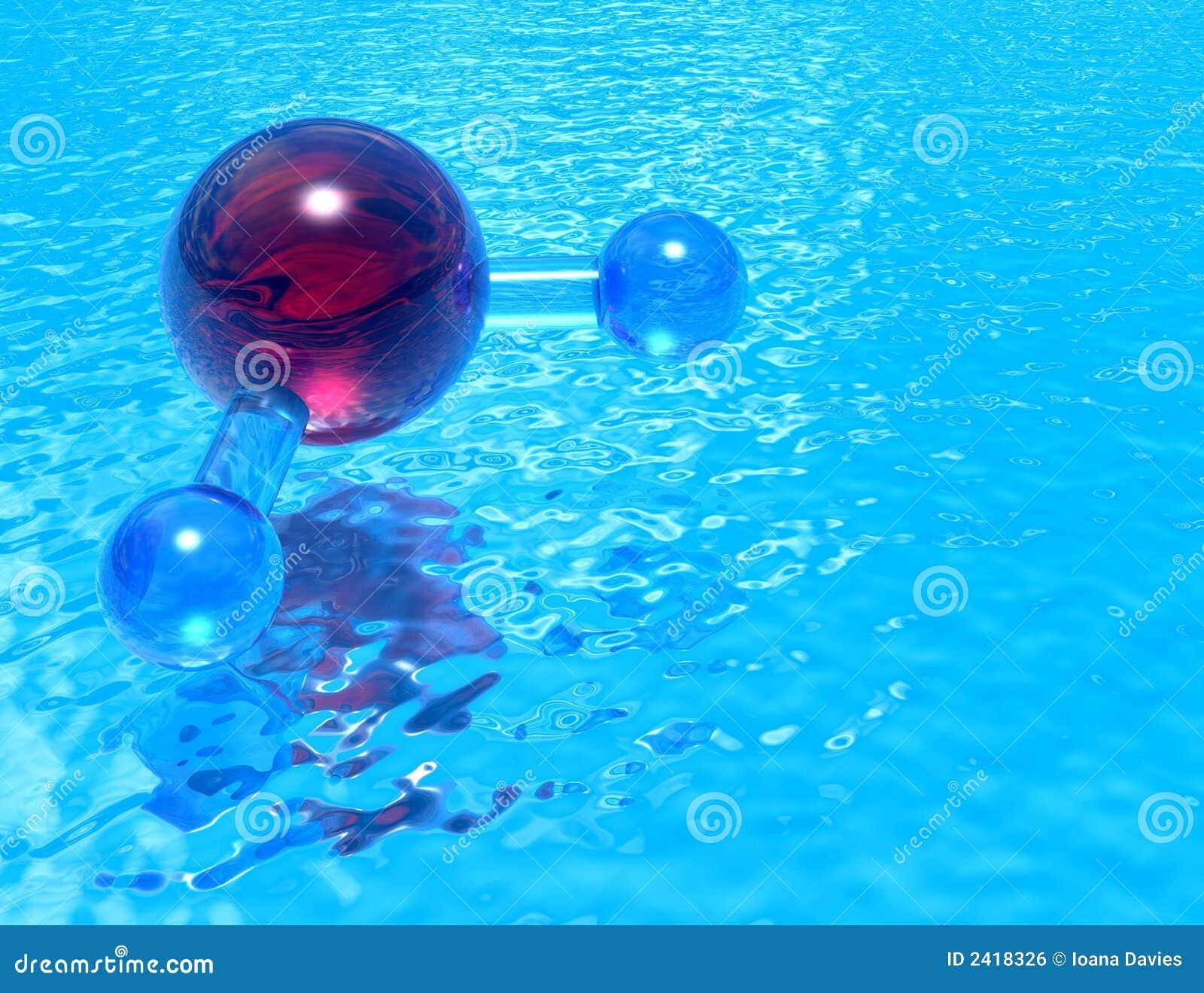 Pool van H2O - rood