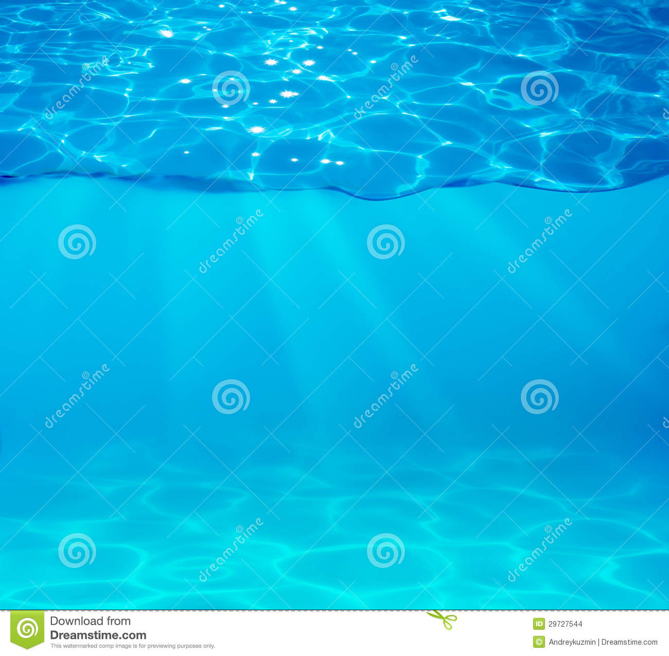 Pool Water Depth And Surface Stock Images - Image: 29727544