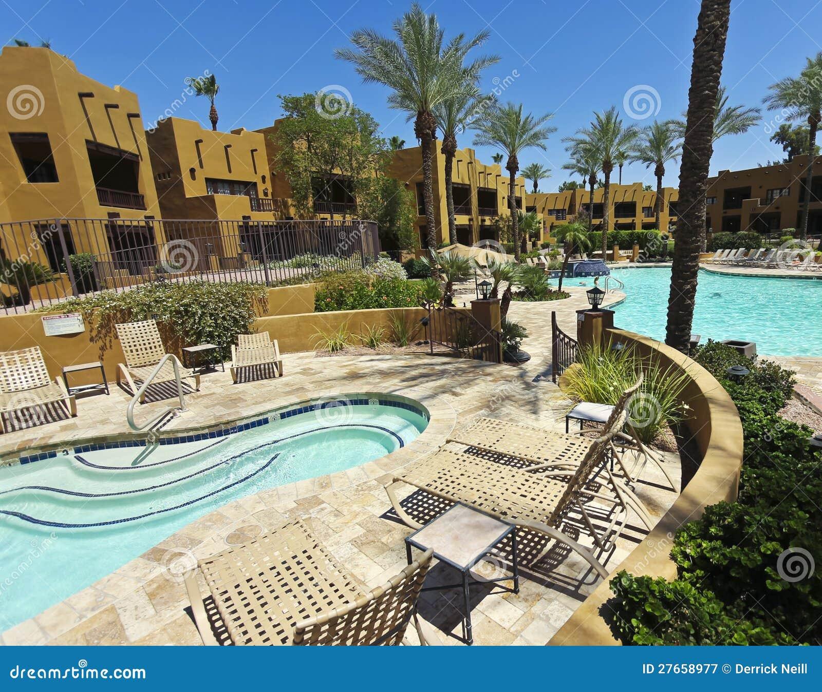 A Pool At The Wigwam Litchfield Park Arizona Editorial