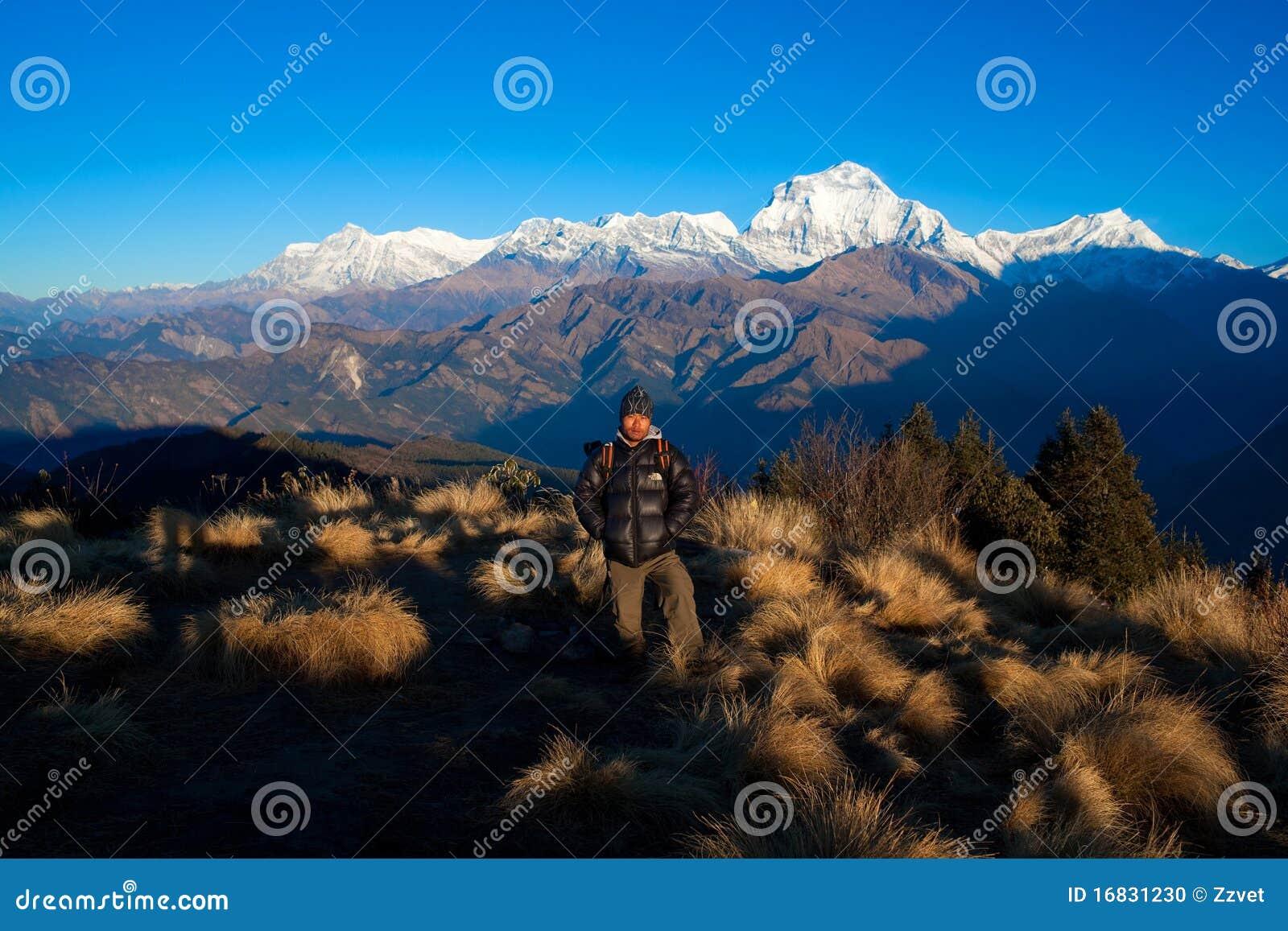 Poon Hill and Dhaulagiri