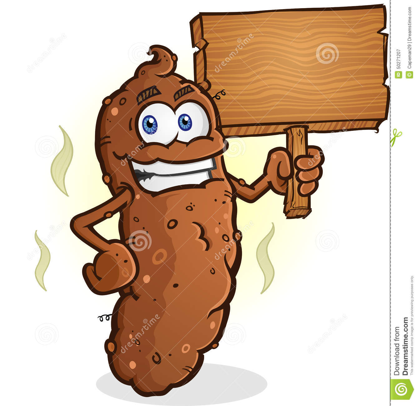 More similar stock images of ` Poop Cartoon Character Holding a Blank ...