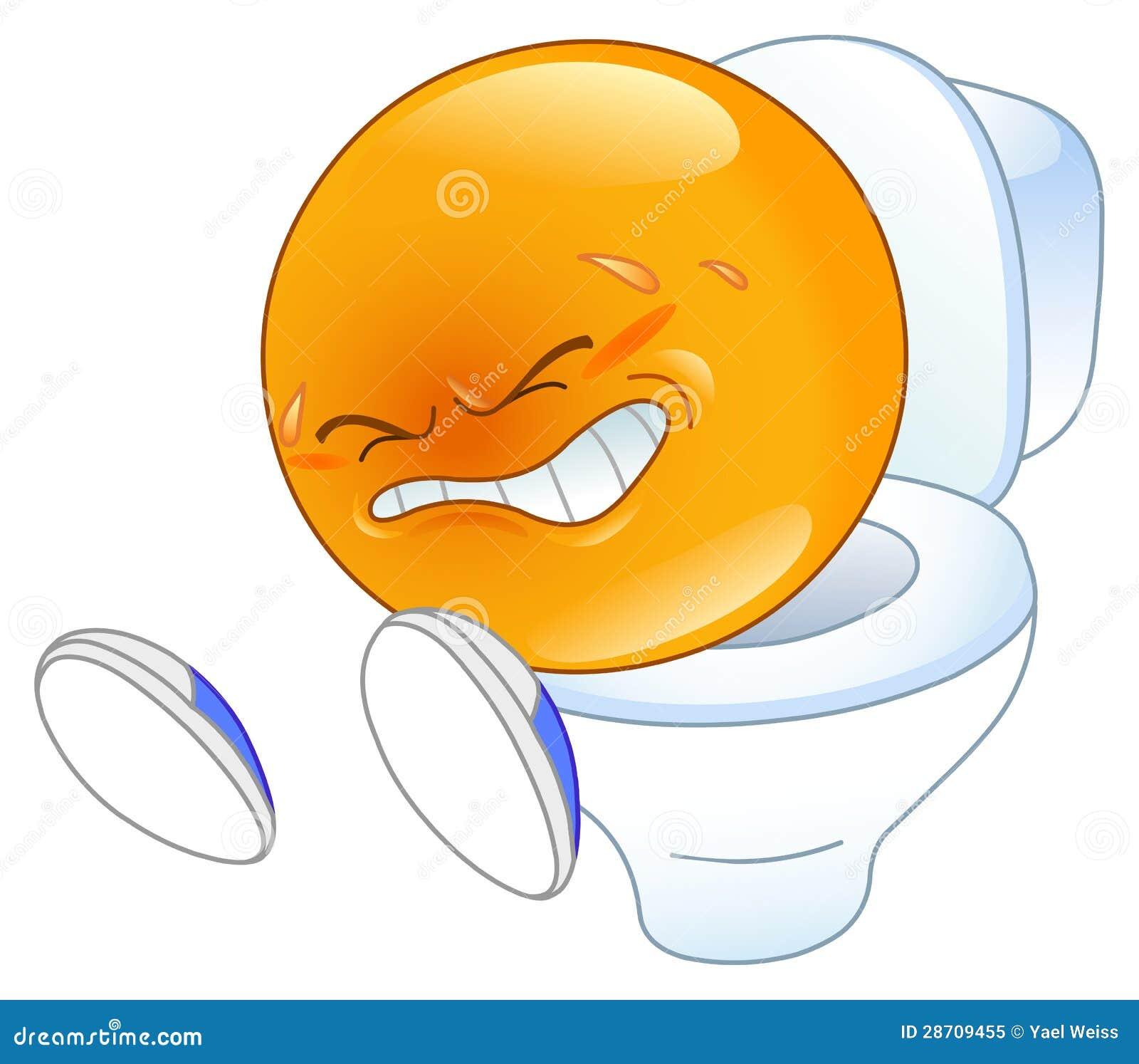 Pooping Emoticon Royalty Free Stock Photo - Image: 28709455