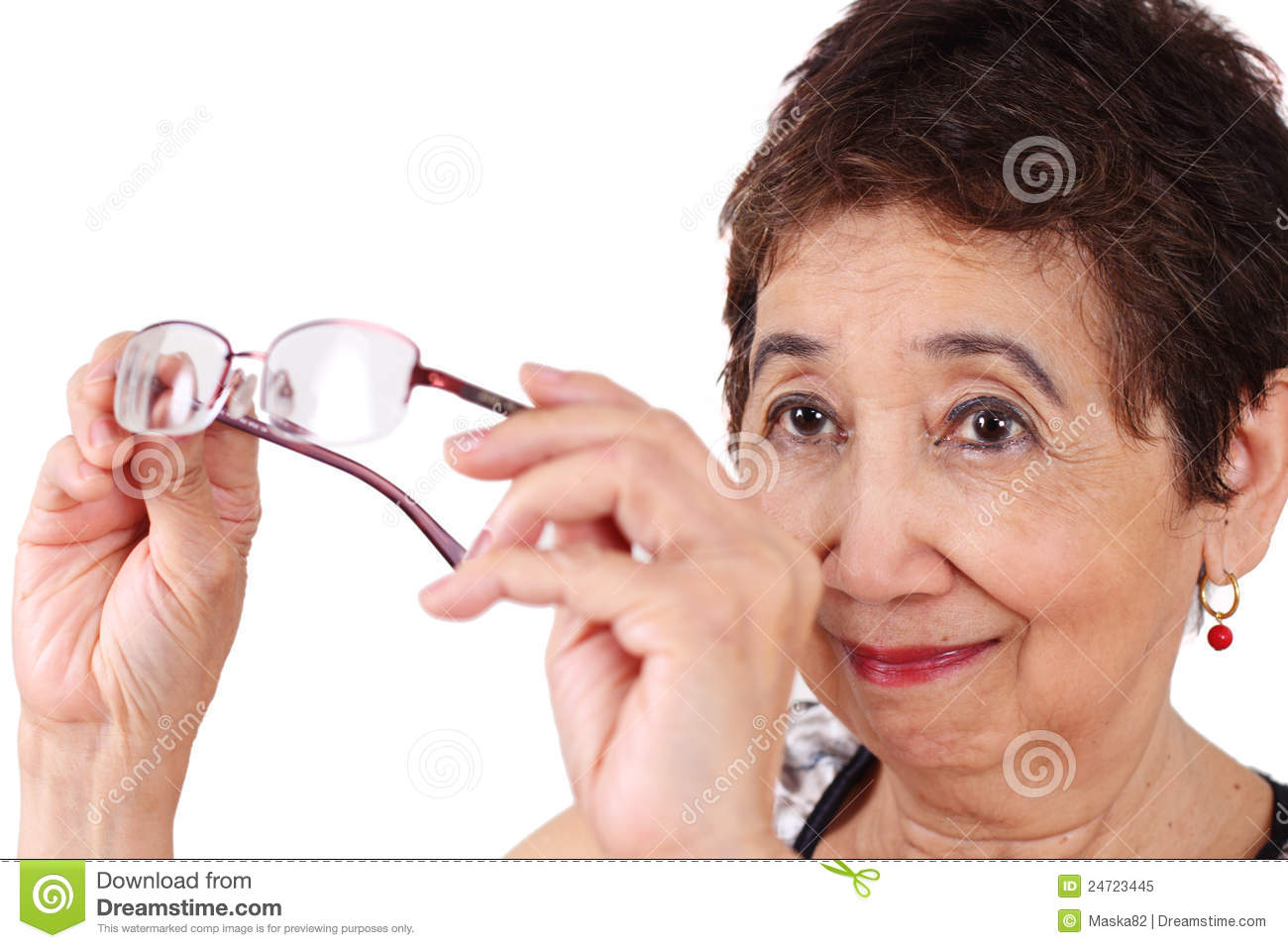 Poor eyesight stock image. Image of care, health, poor ...