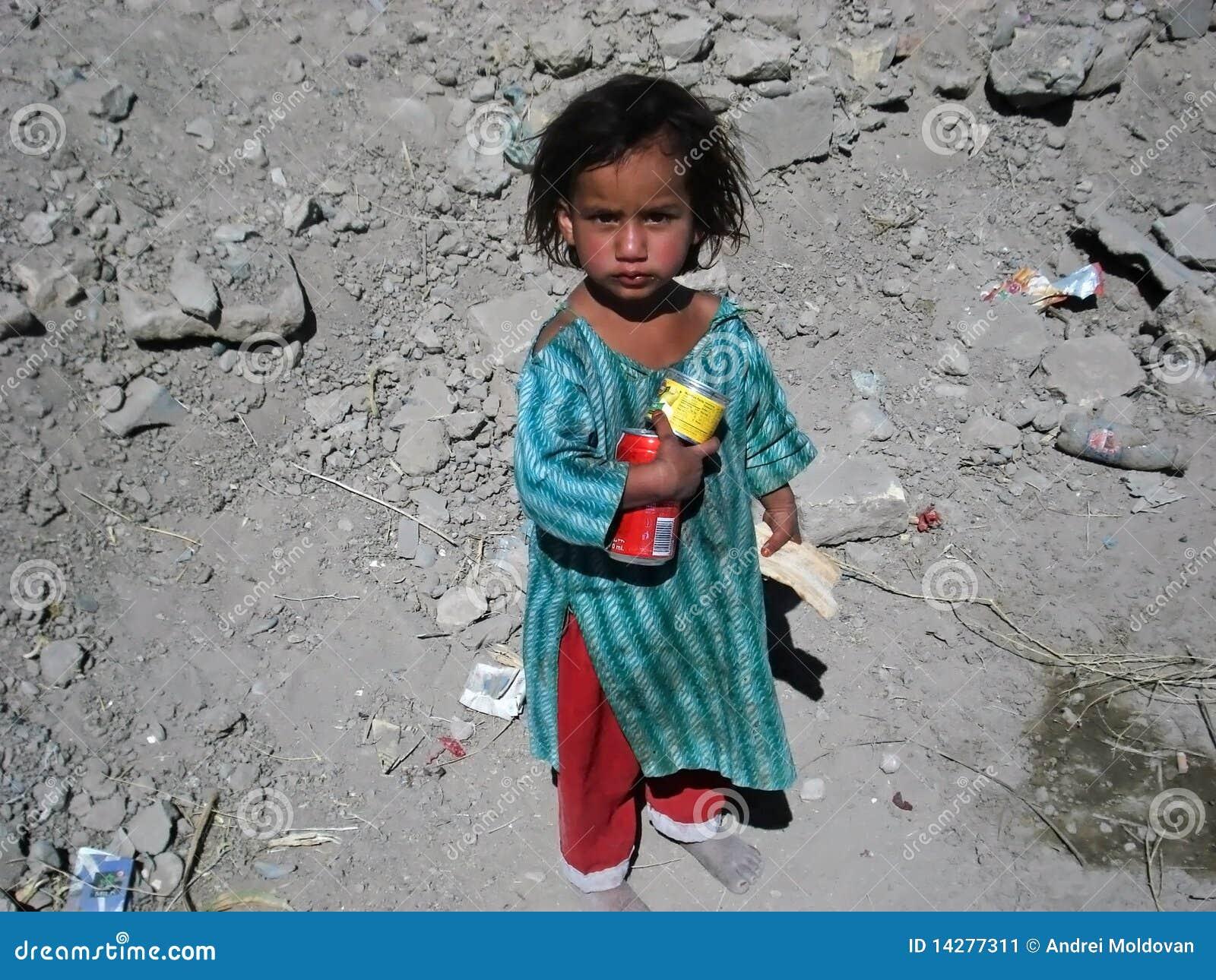 Poor Girl In Afghanistan Editorial Photo Image 14277311