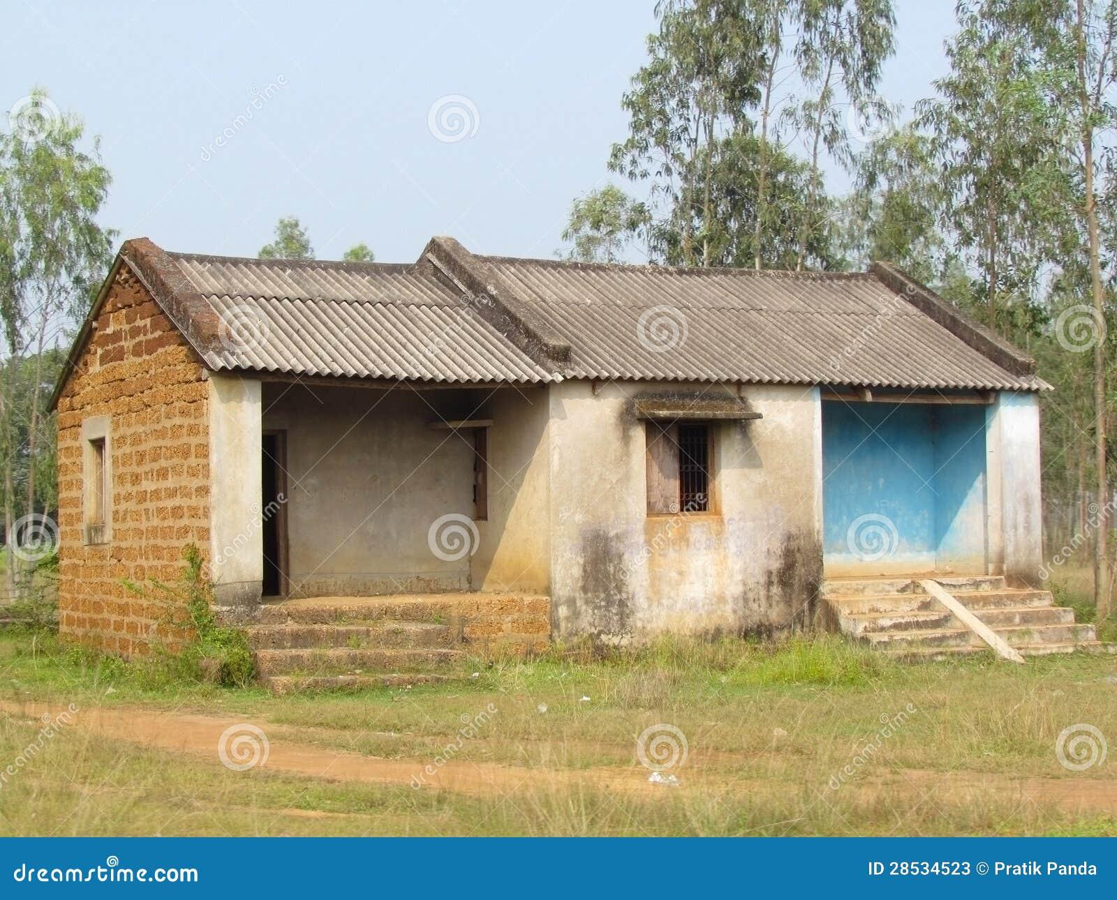 Poor indian rural brick house stock image image 28534523 - Casas rurales de madera ...