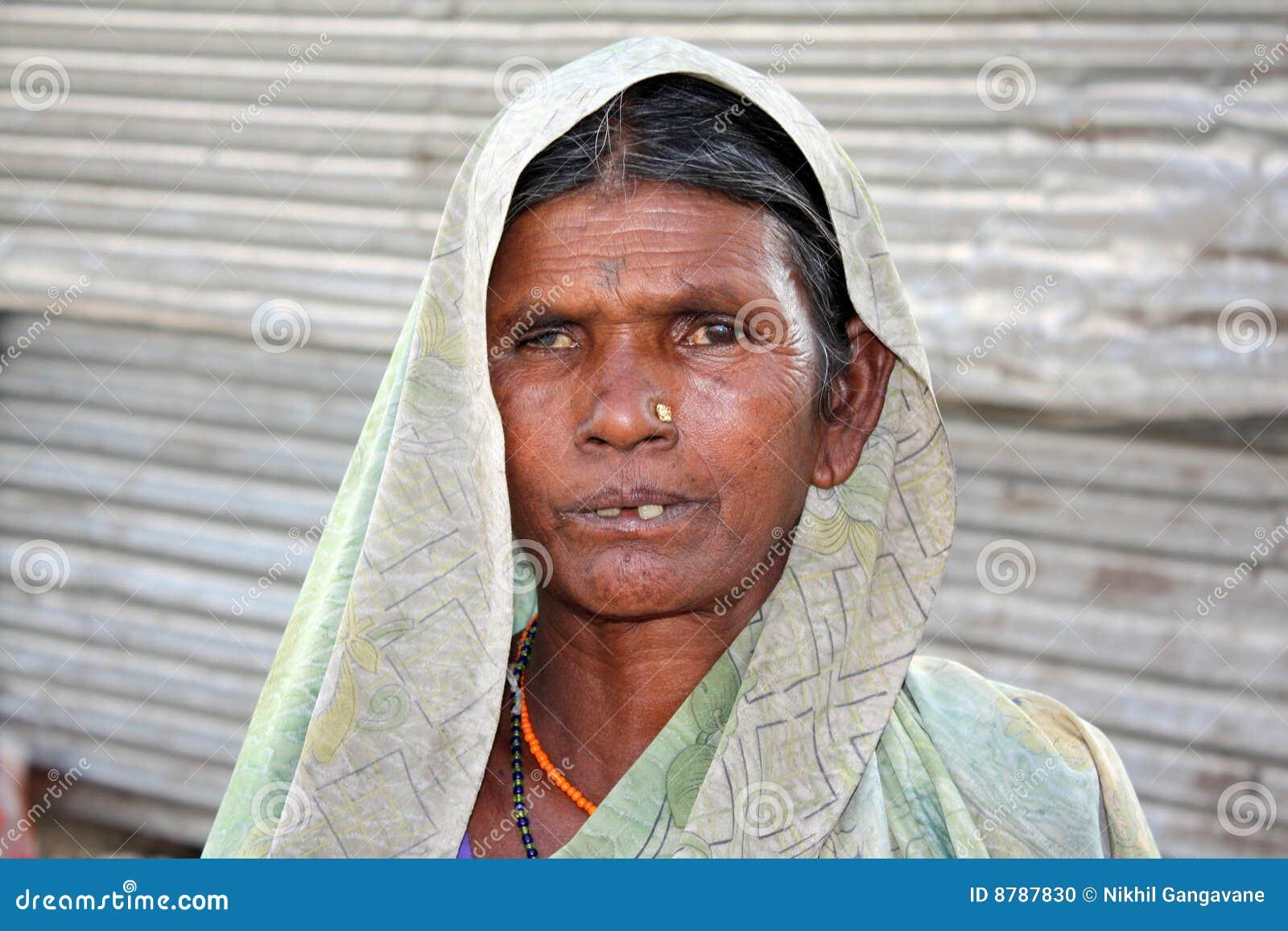 Poor Indian Woman