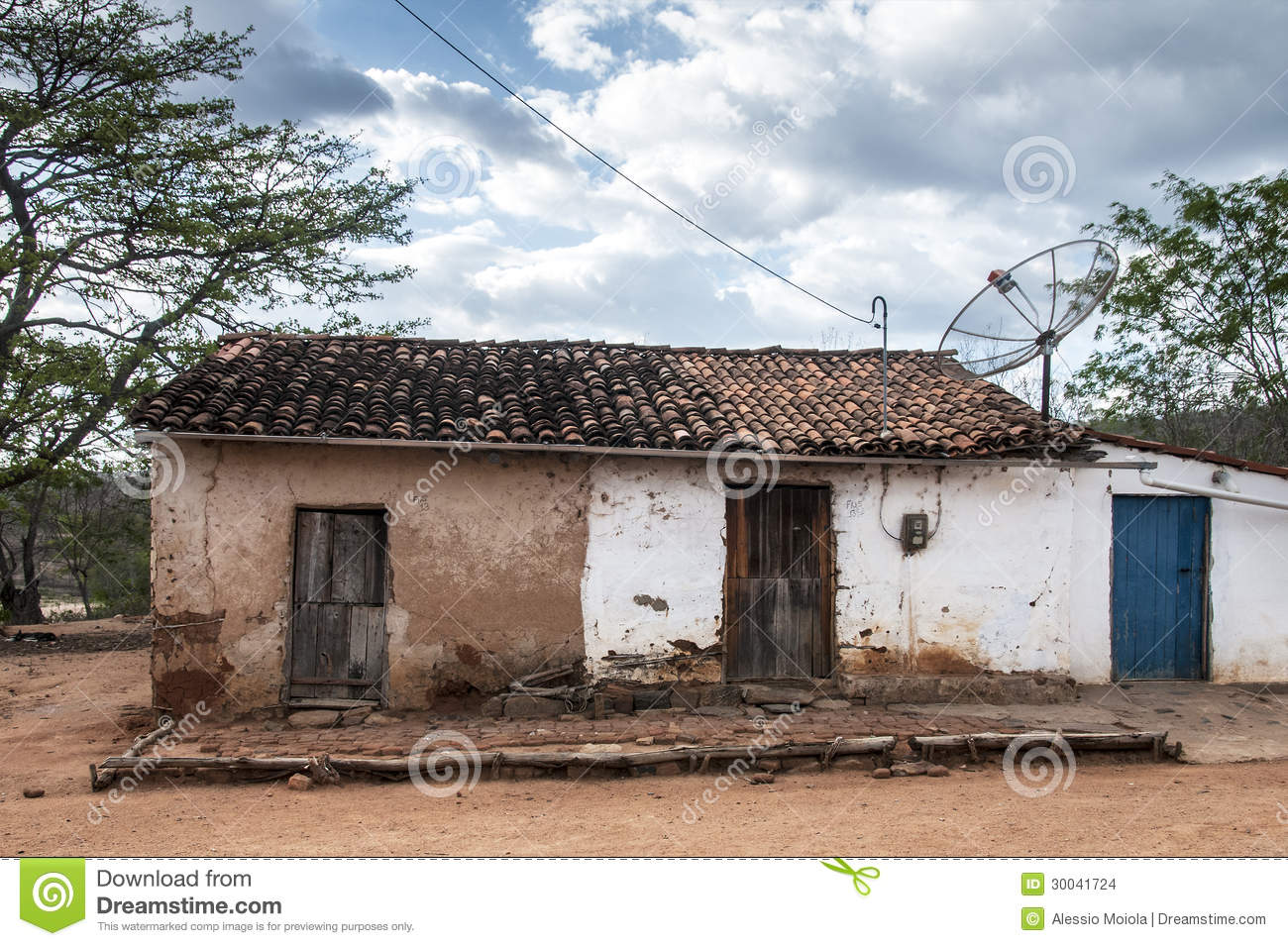 Mud House In Brazil Stock Images - Image: 30041724