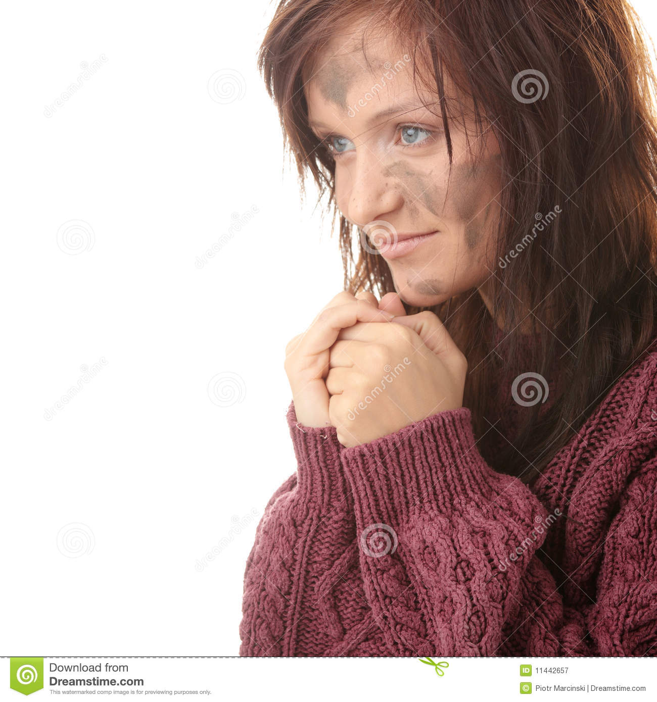 Poor Woman Royalty Free Stock Photography - Image: 11442657