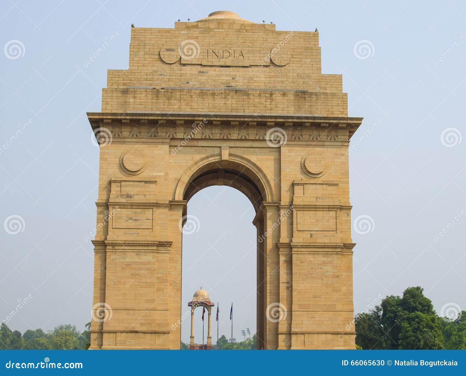 Poort van India in de hoofdstad van India