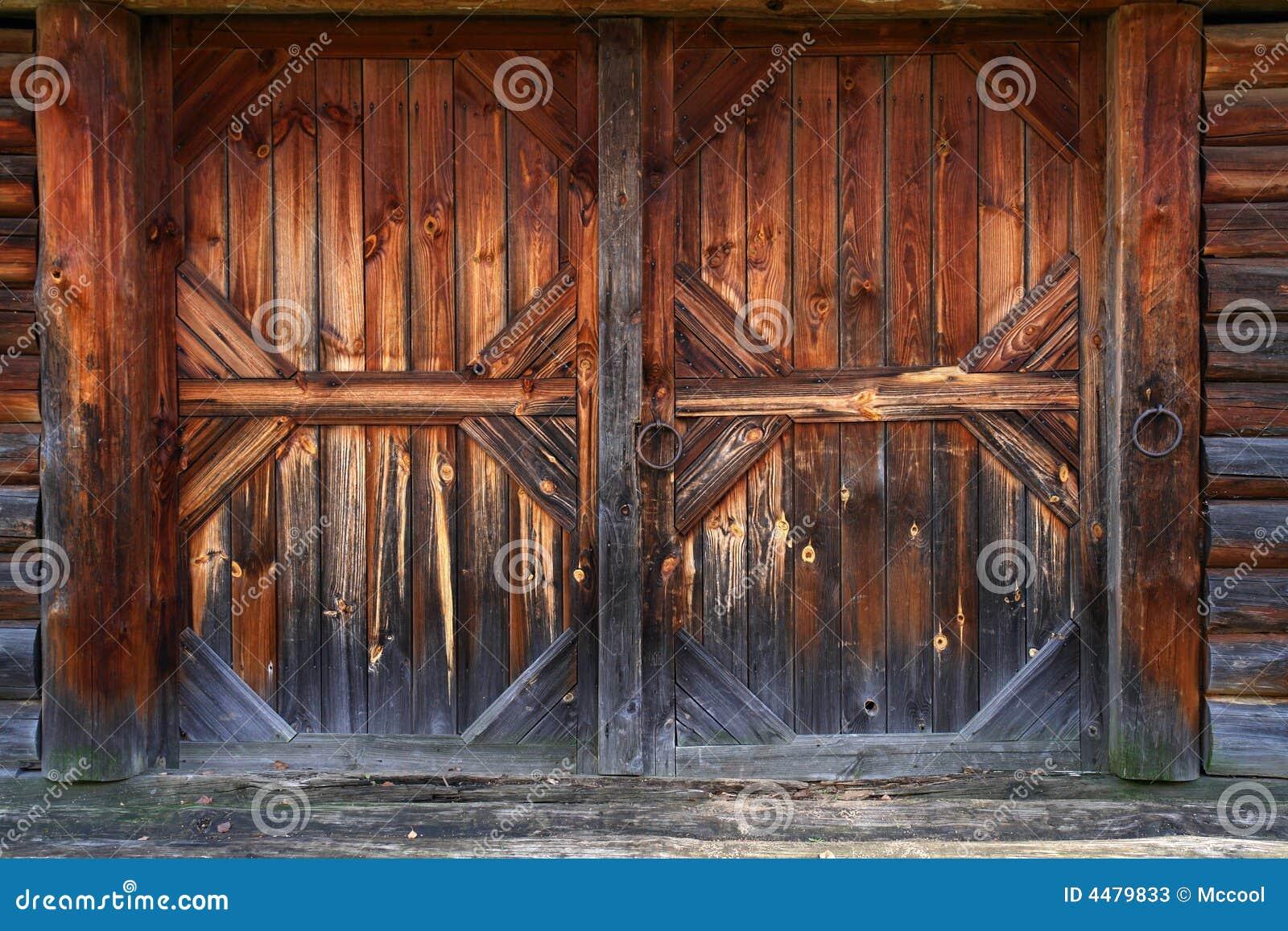 poort van oude schuur stock foto 39 s afbeelding 4479833. Black Bedroom Furniture Sets. Home Design Ideas