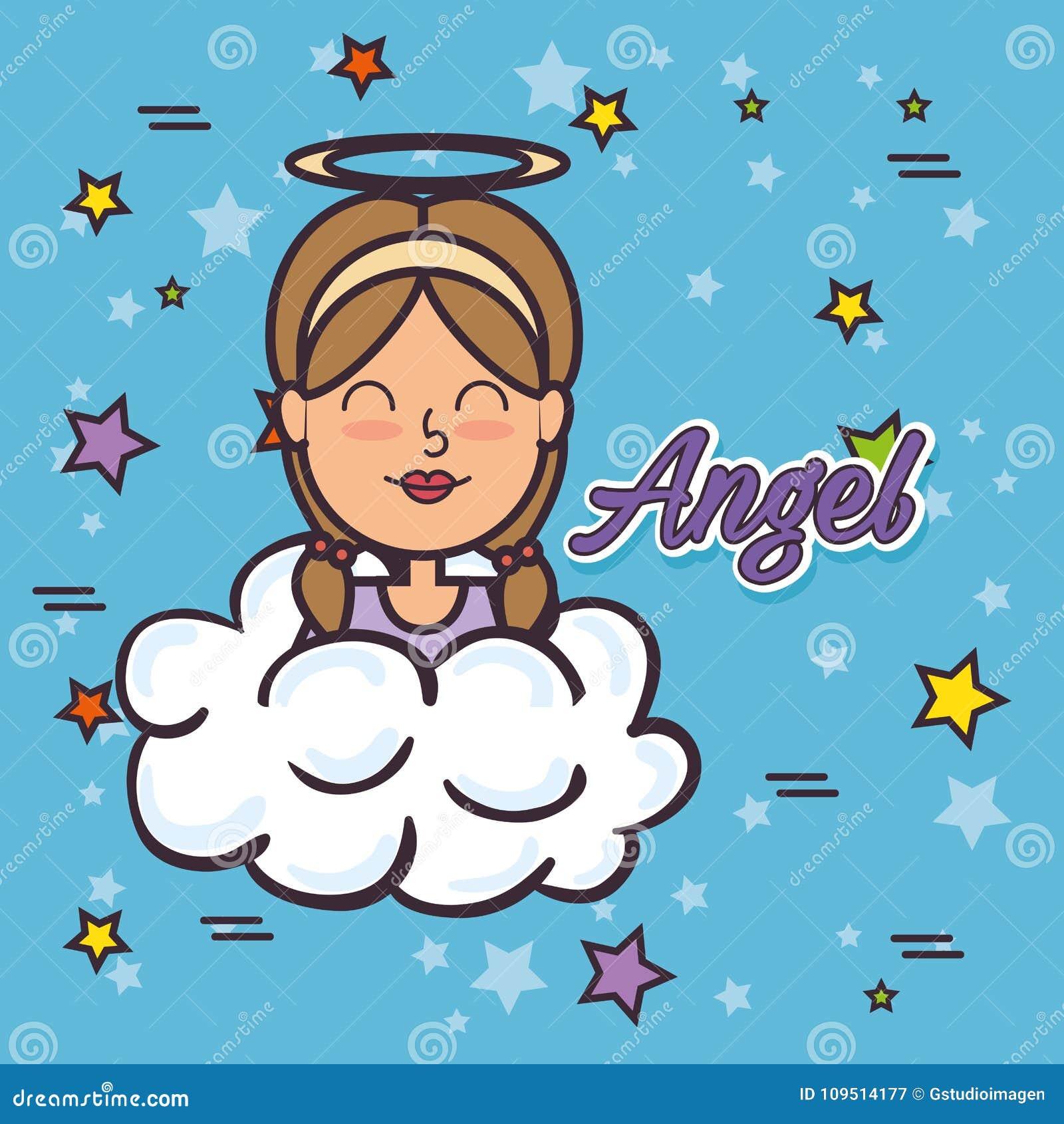 Pop art de Angel Fairy Godmother
