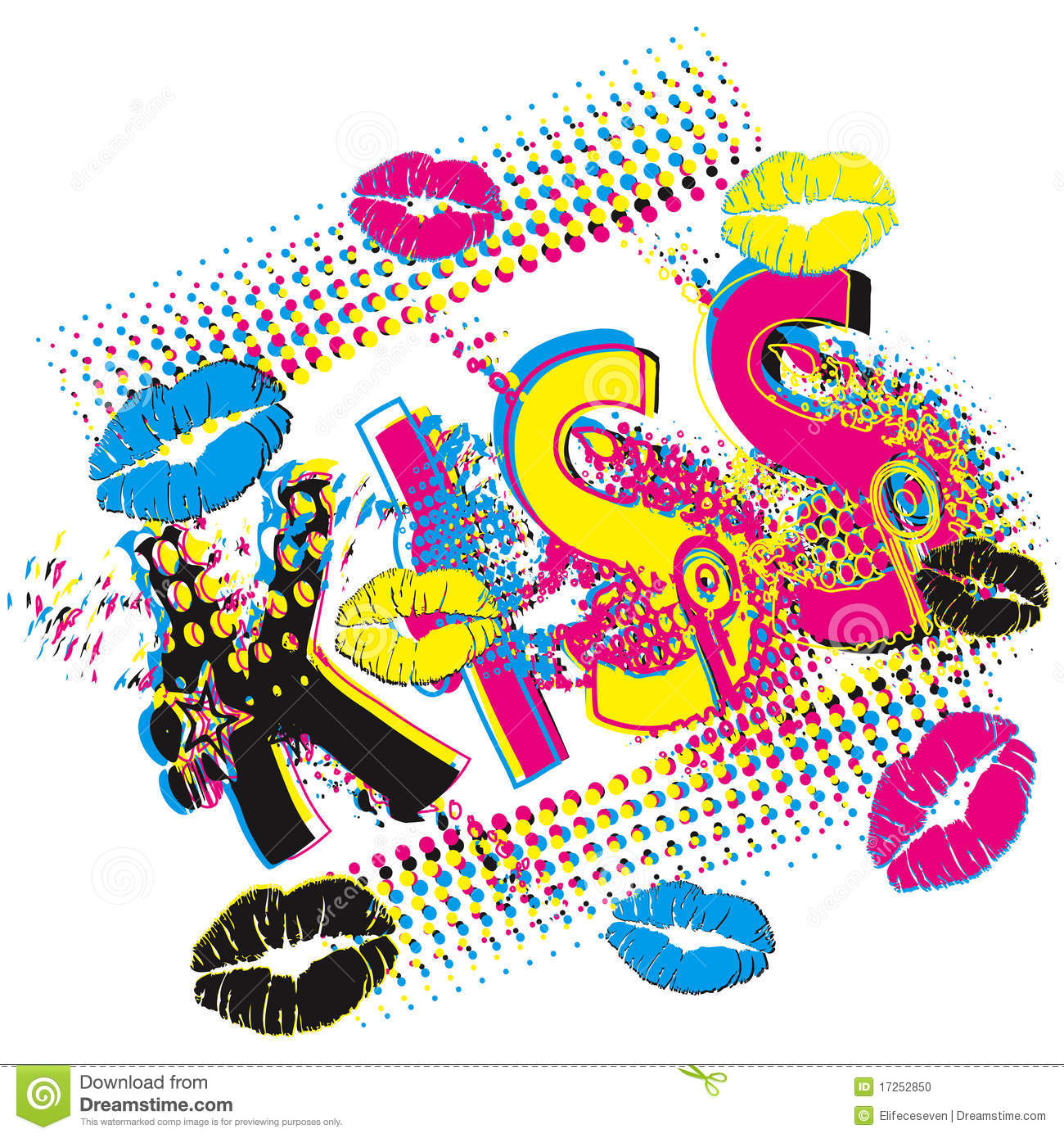 Pop Art Design POP ART Design Stock Photo Image 17252850