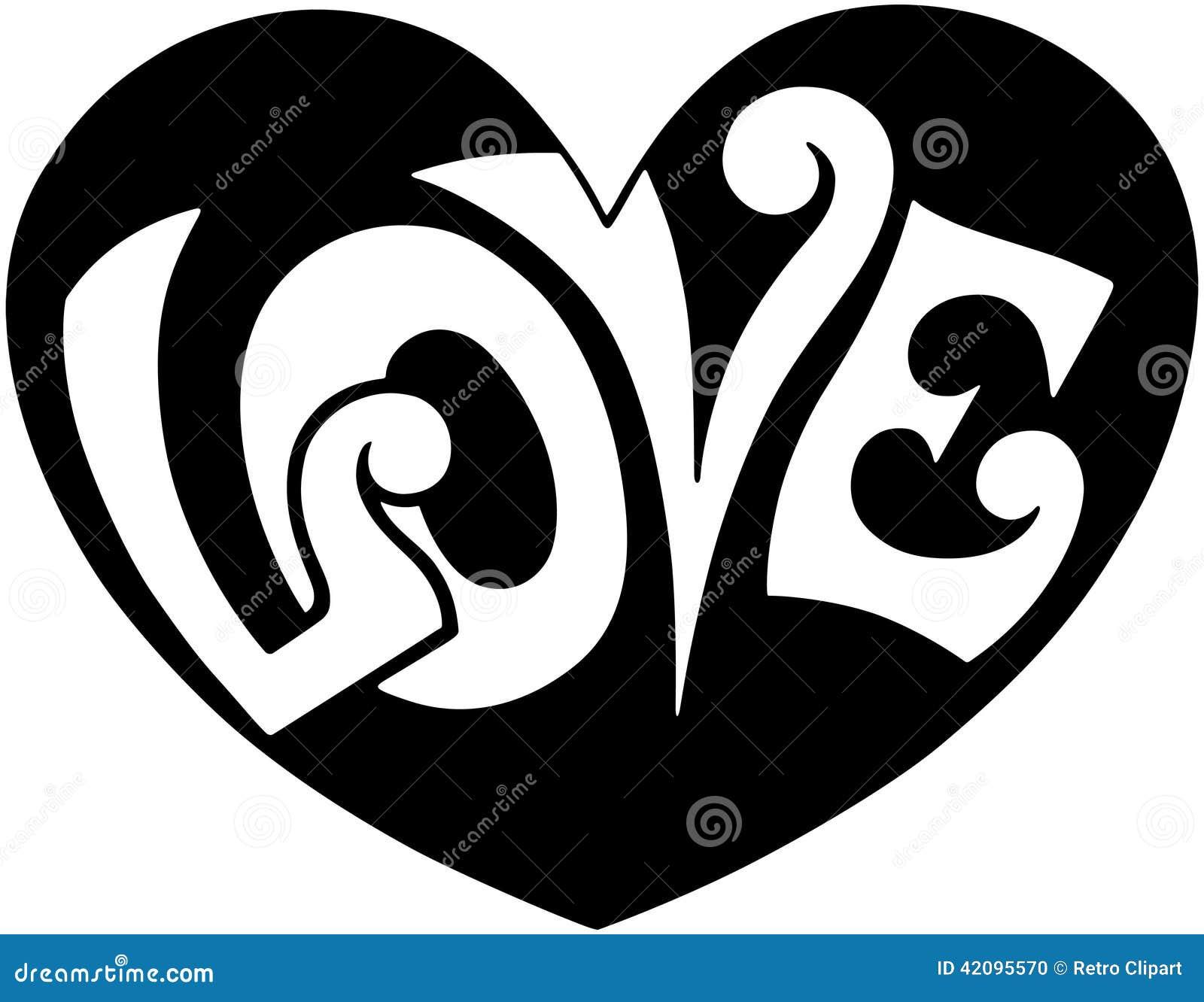 Pop Art Love Heart Stock Vector Image 42095570