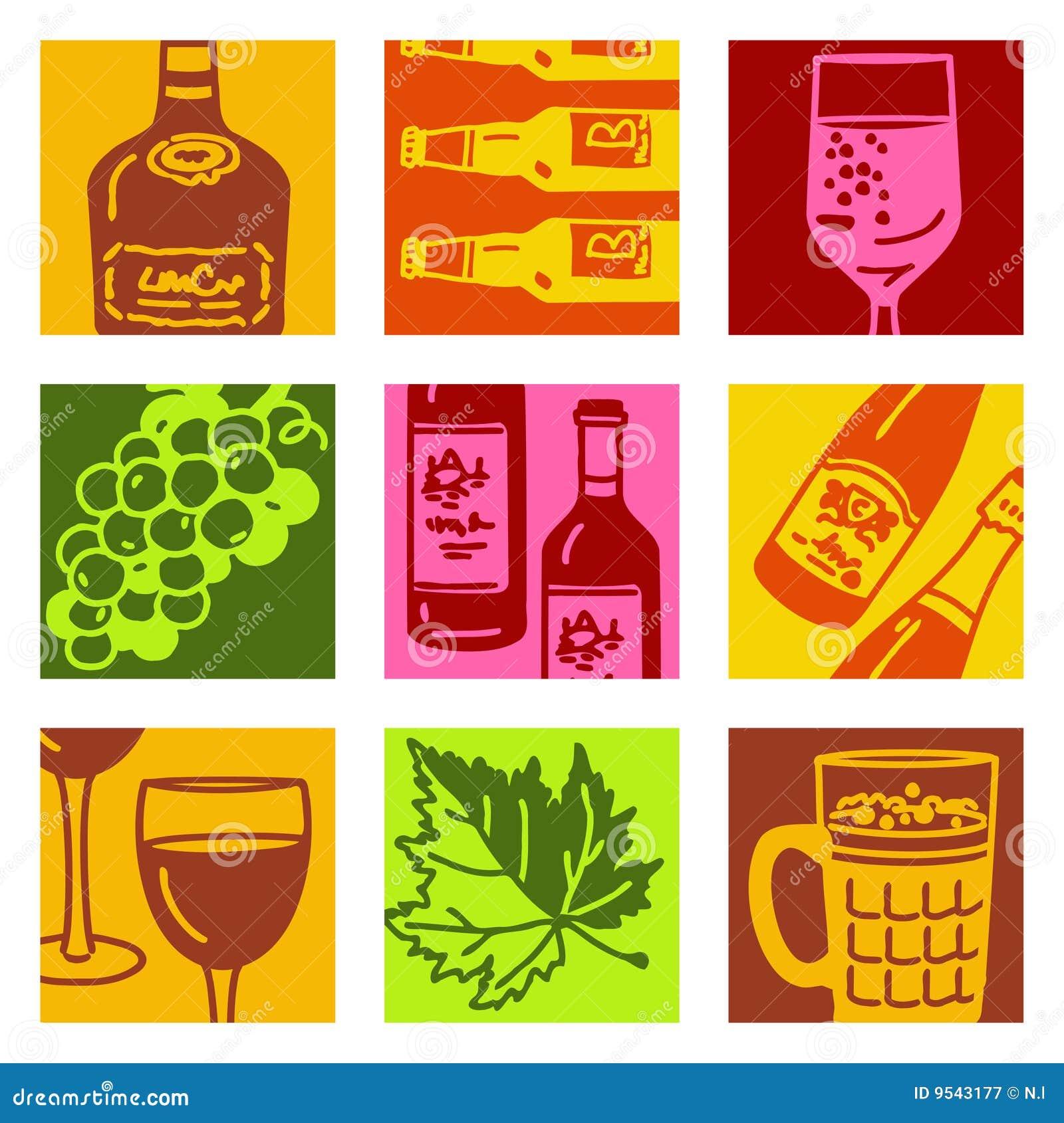 Pop Art Objects - Wine...