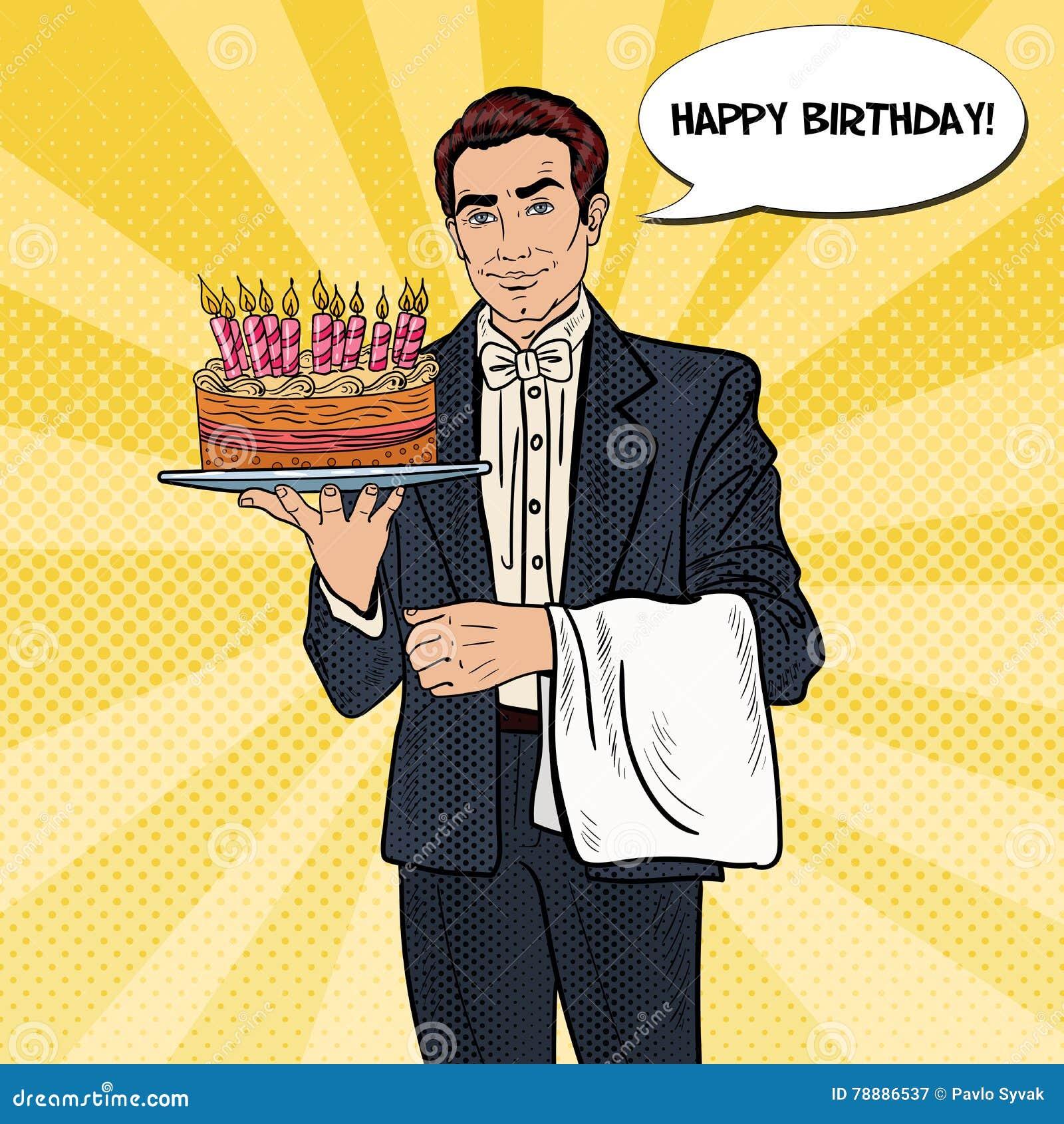 Holding Birthday Cake