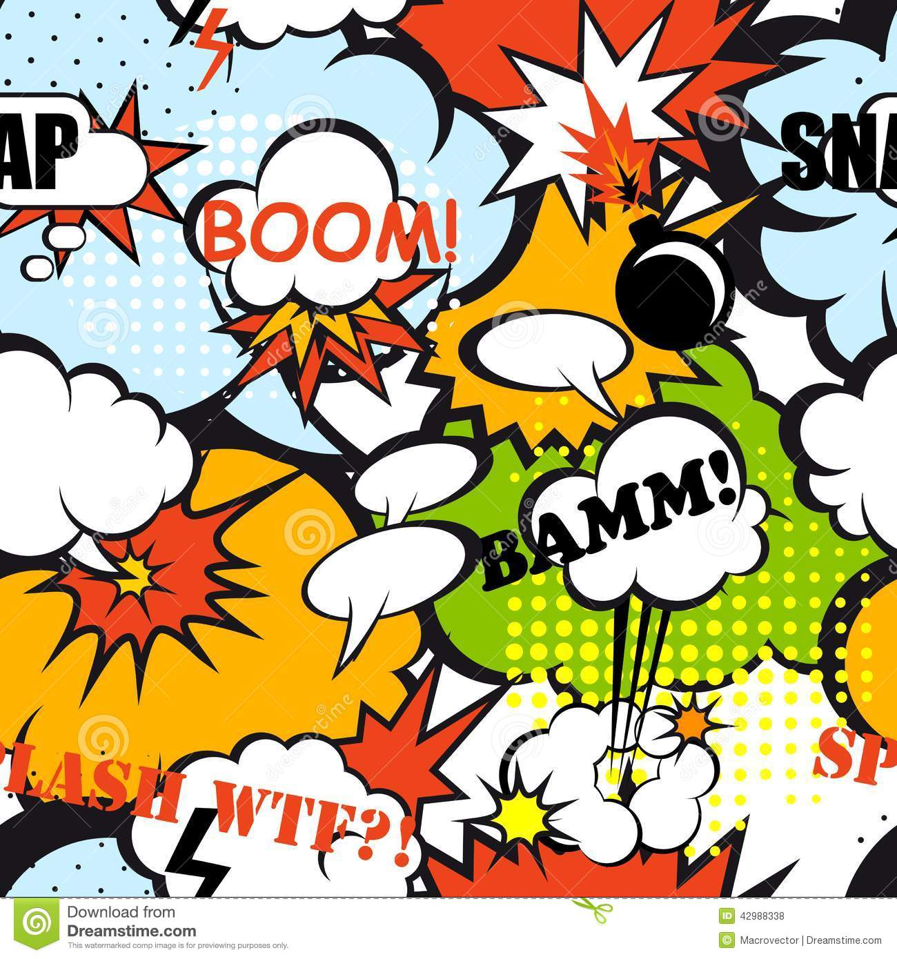 speech bubble wallpaper