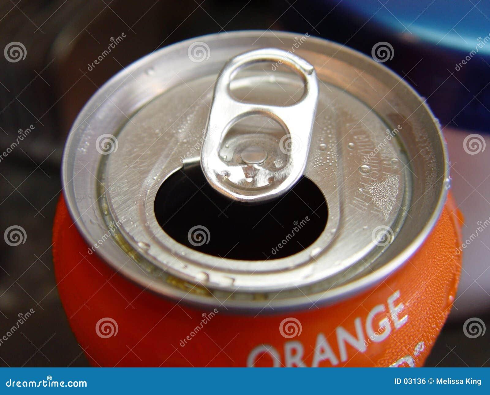 Pop de sinaasappel kan