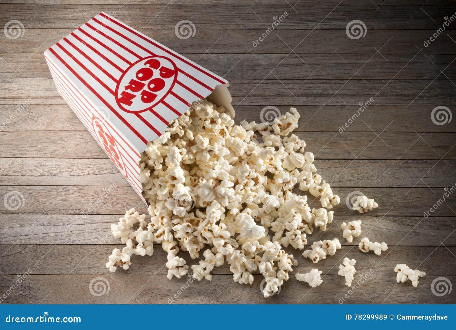 Popcorn κιβωτίων υπόβαθρο