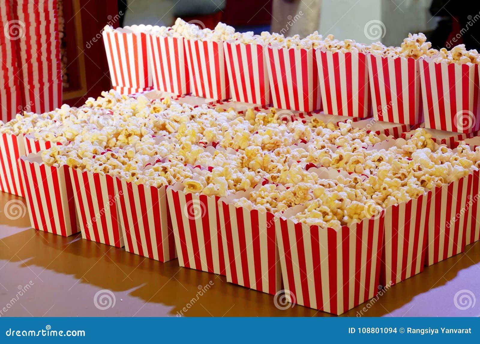 Popcorn κιβώτιο για τους κινηματογράφους