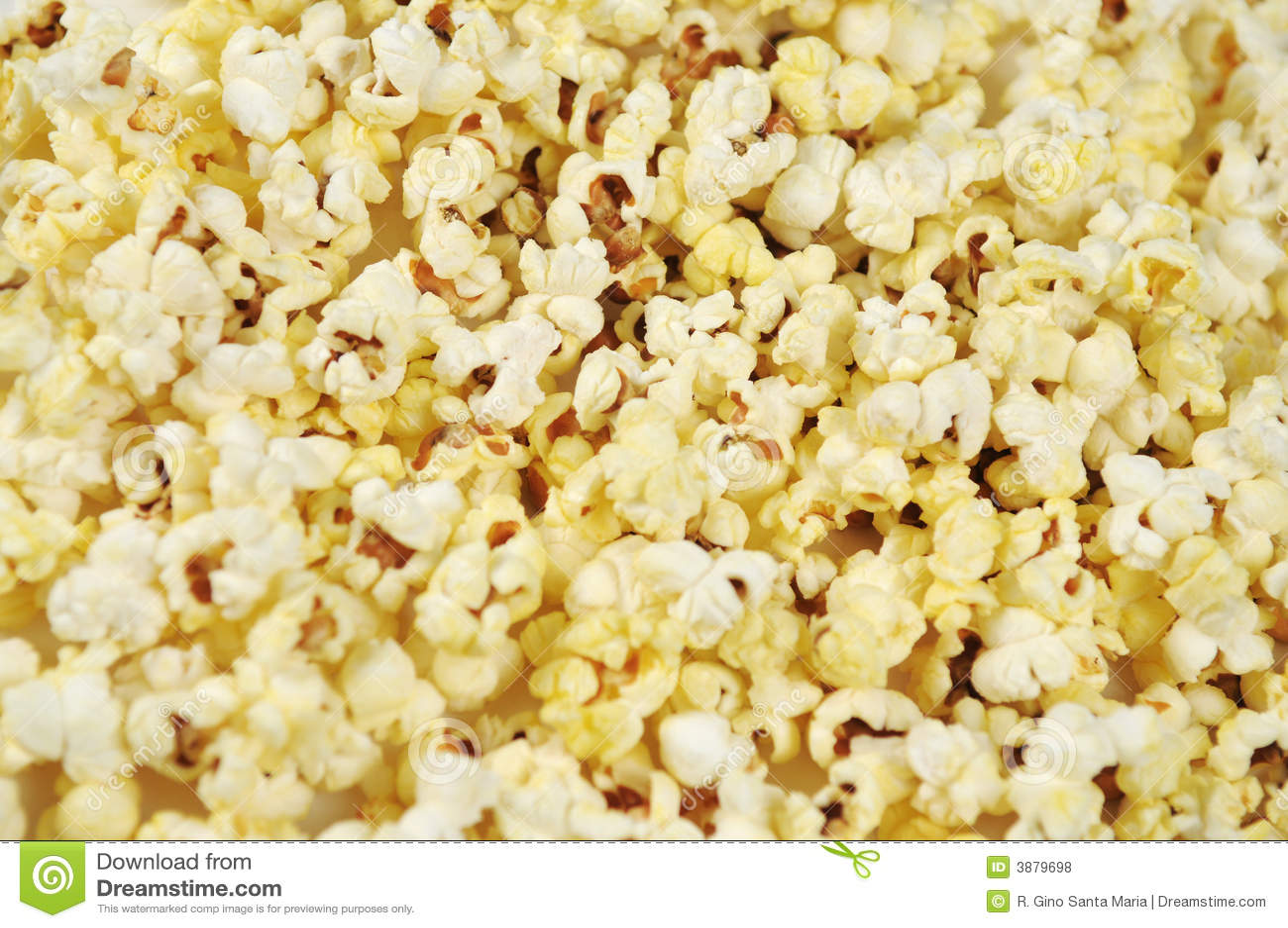 Buttered Popcorn Background