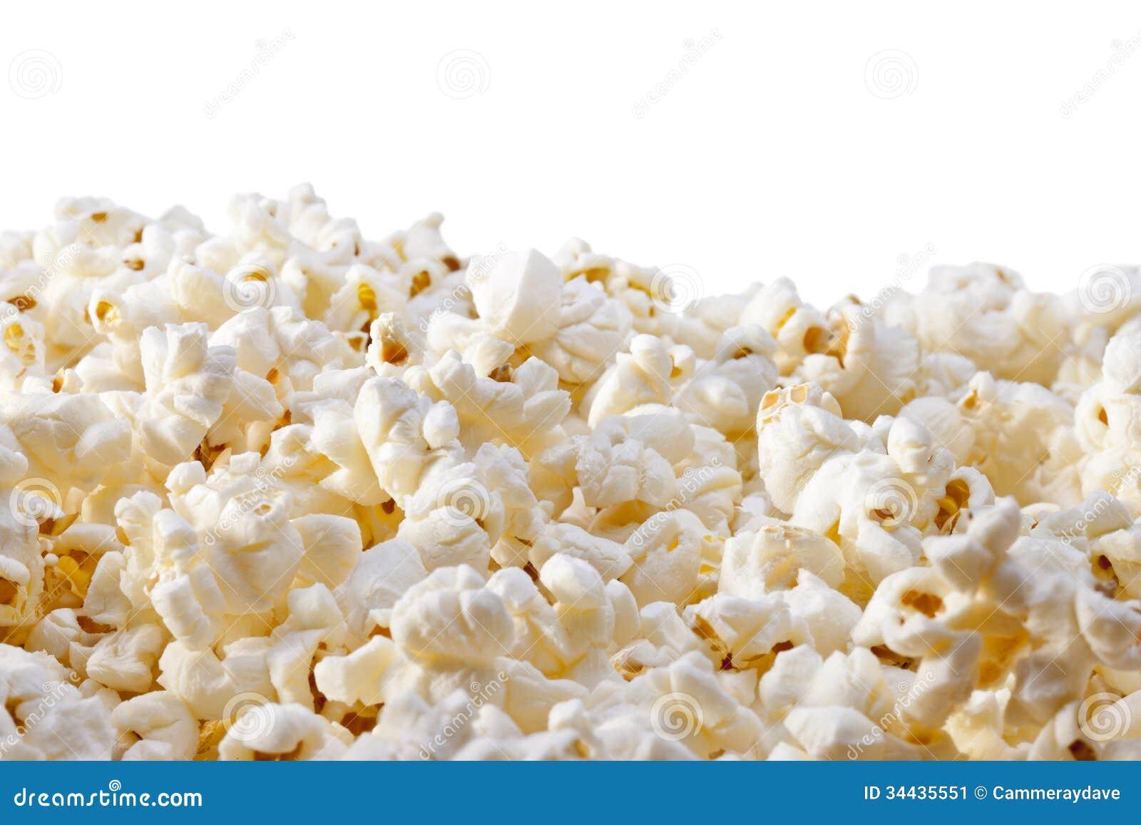 Popcorn Background Stock Image - Image: 34435551