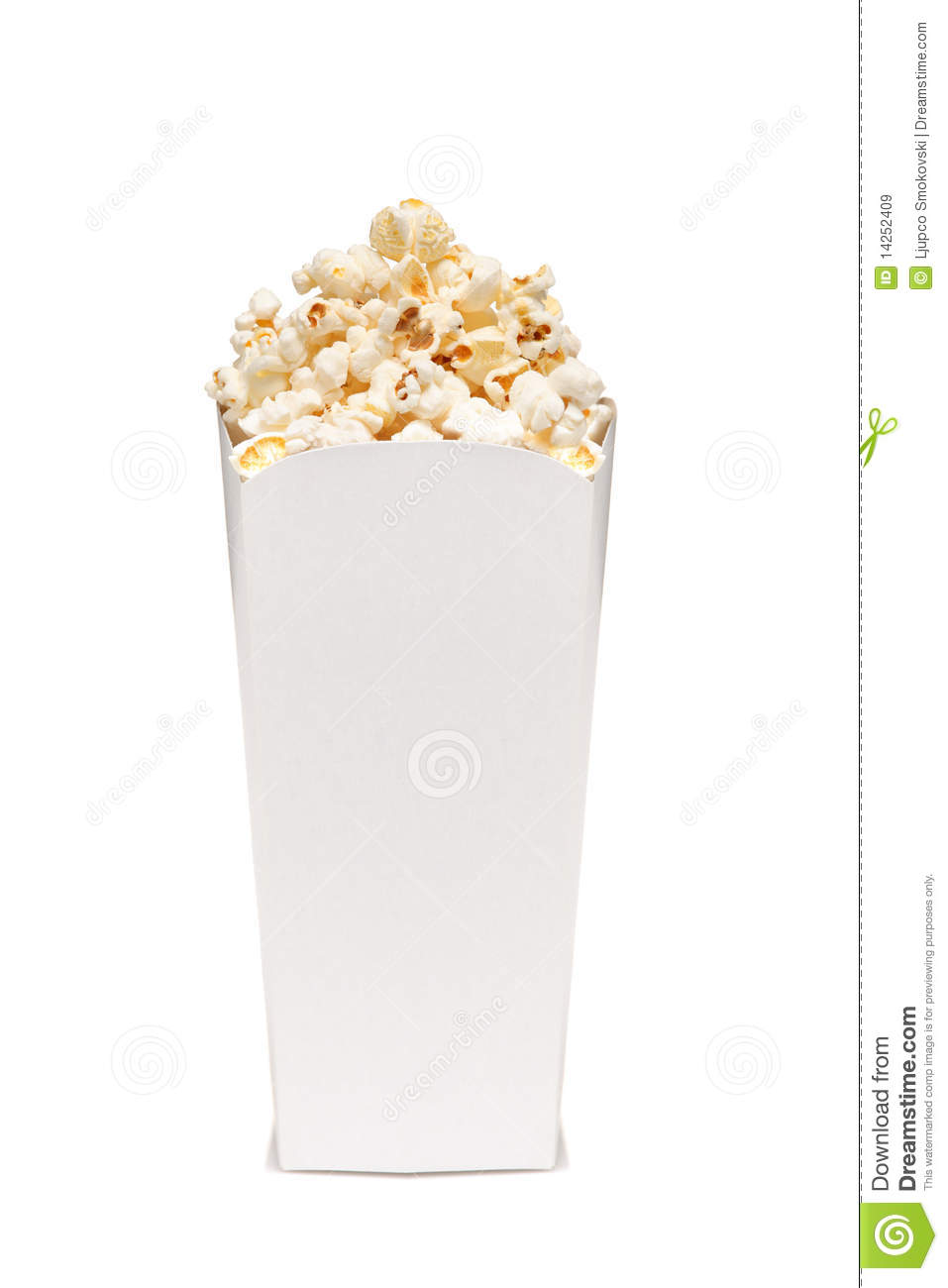 Popcorn In Box Royalty Free Stock Images - Image: 14252409