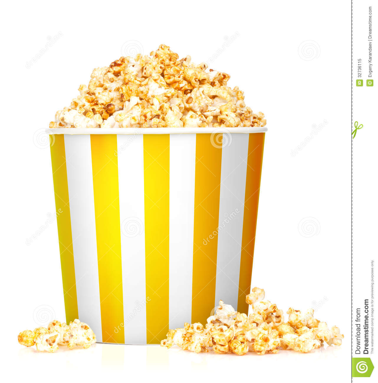 Popcorn Box Royalty Free Stock Photo - Image: 32736115