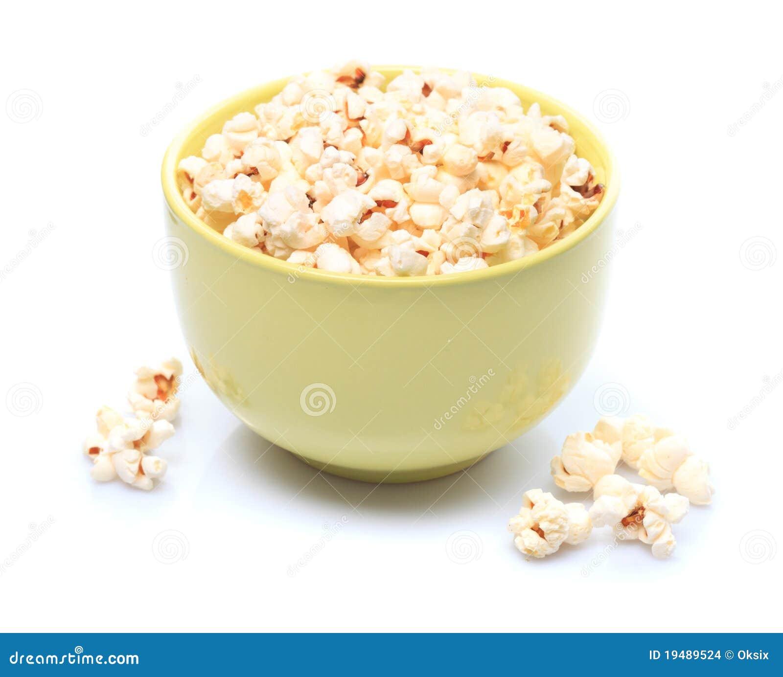 Popcorn in ciotola