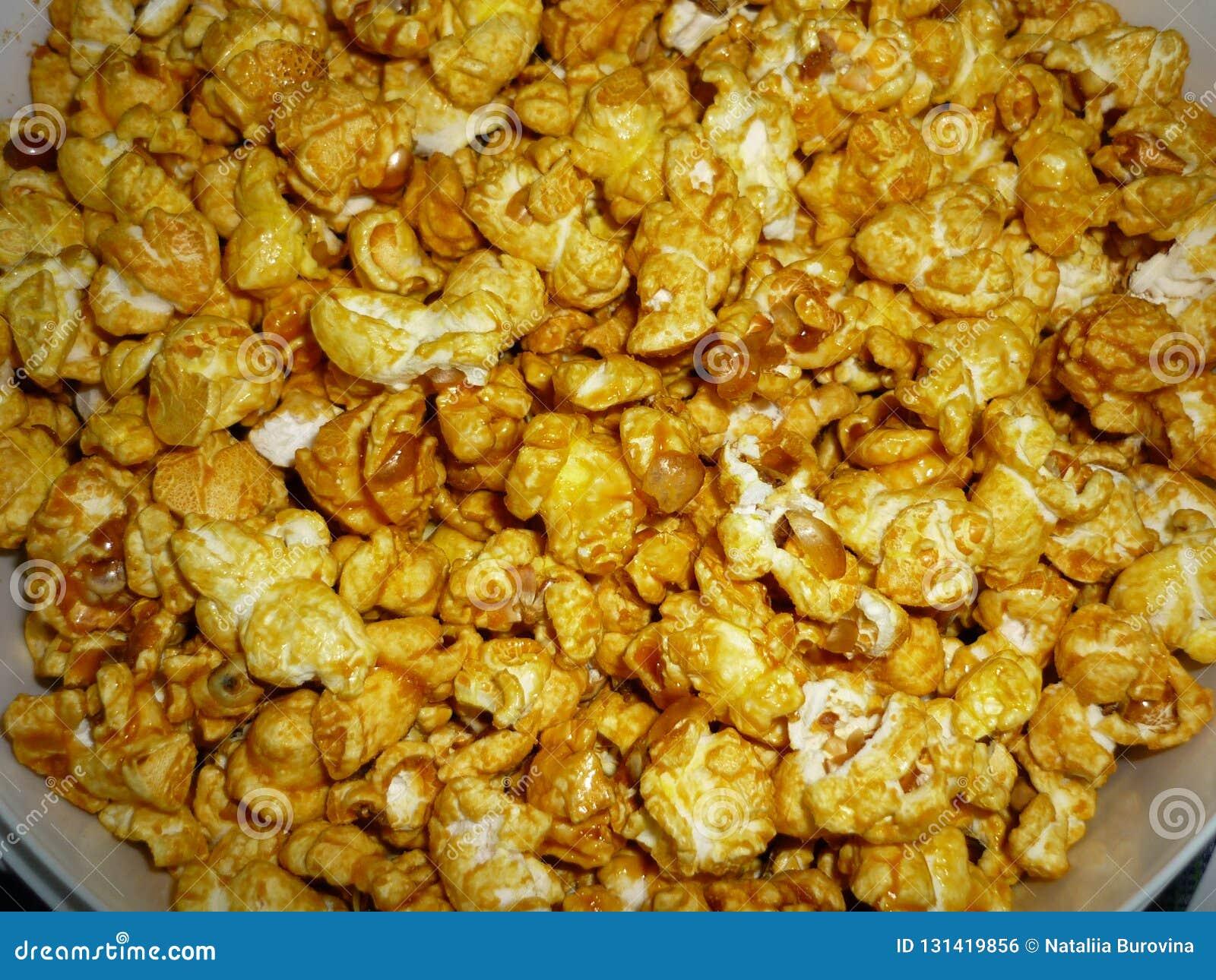 Popcorn del caramello dal cinema