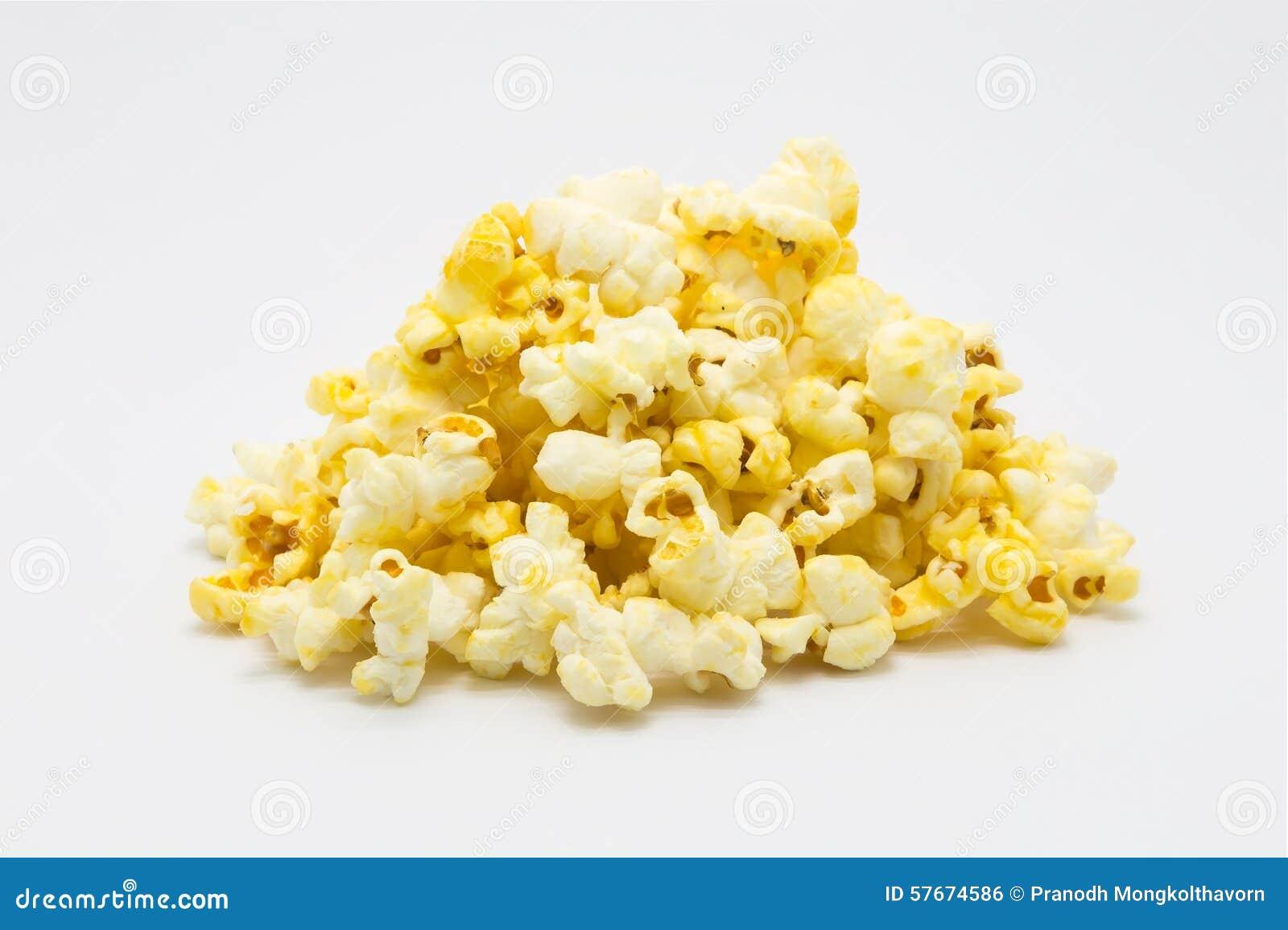 Popcorn dolce del caramello