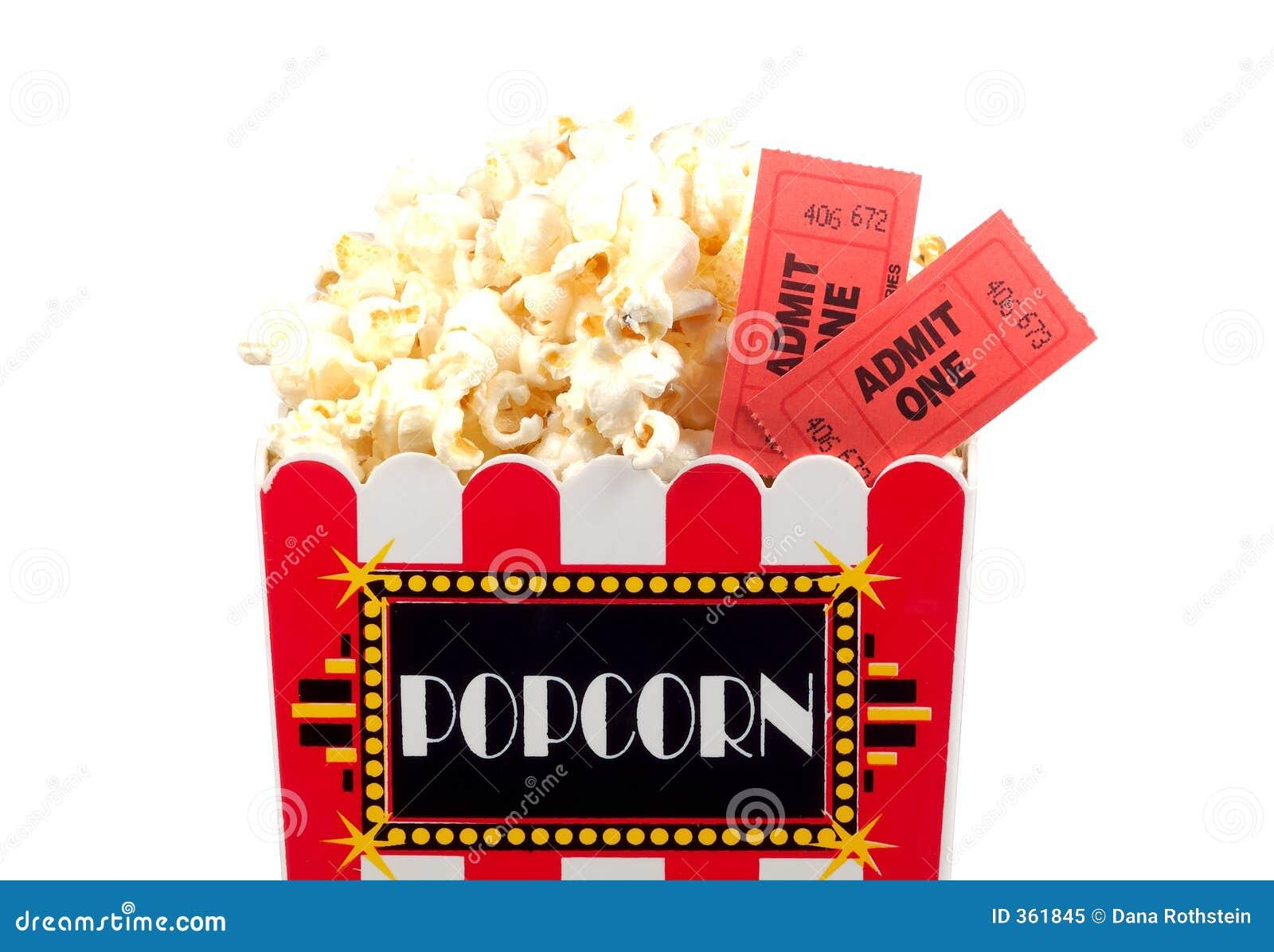 Popcorn e biglietti