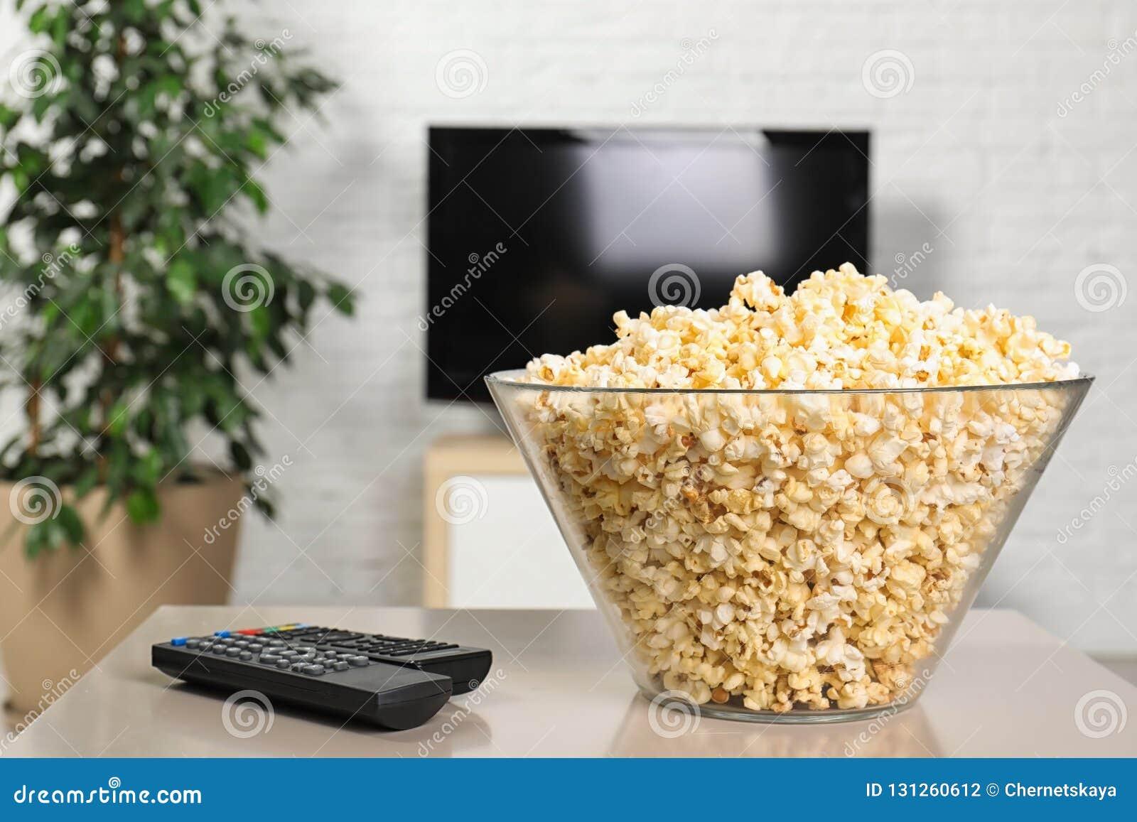 Popcorn en TV-afstandsbedieningen op lijst