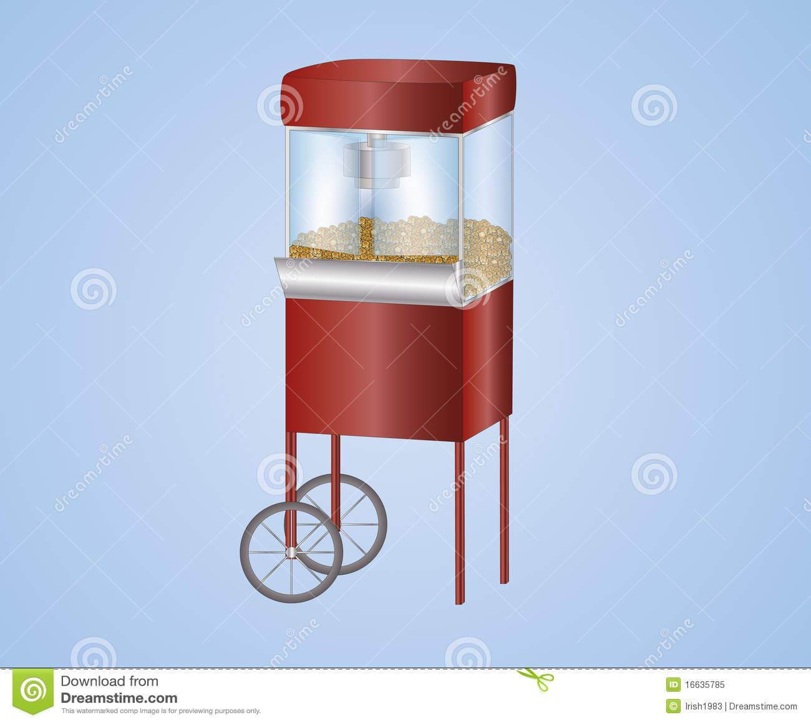 images of popcorn machine