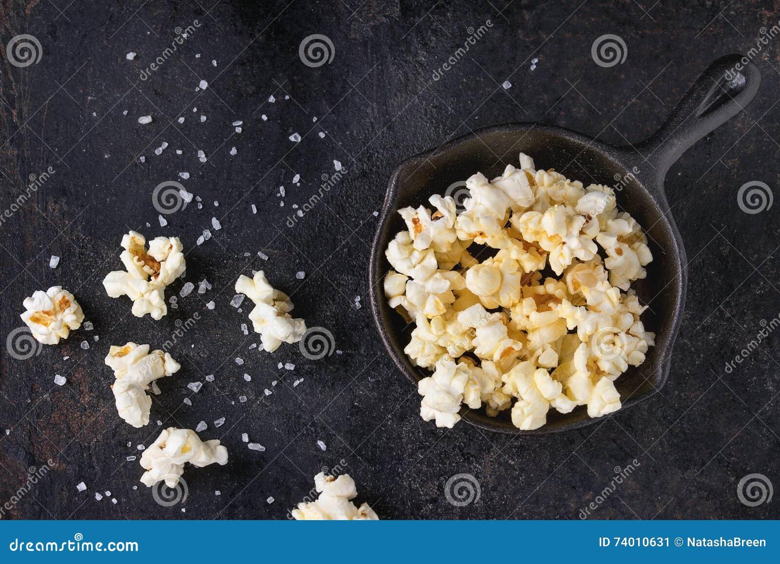 Popcorn salato pronto