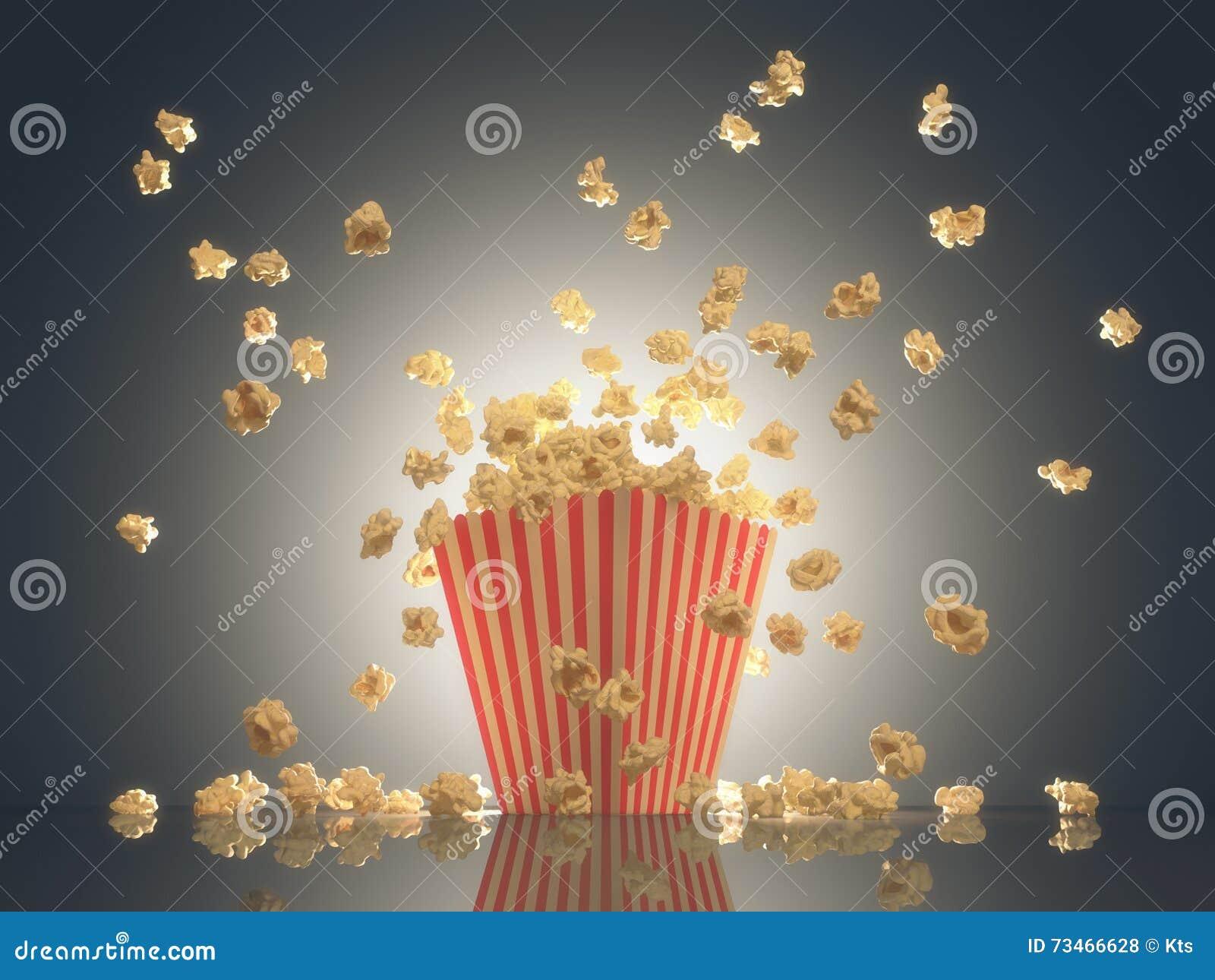 Popcorn-Show-Zeit