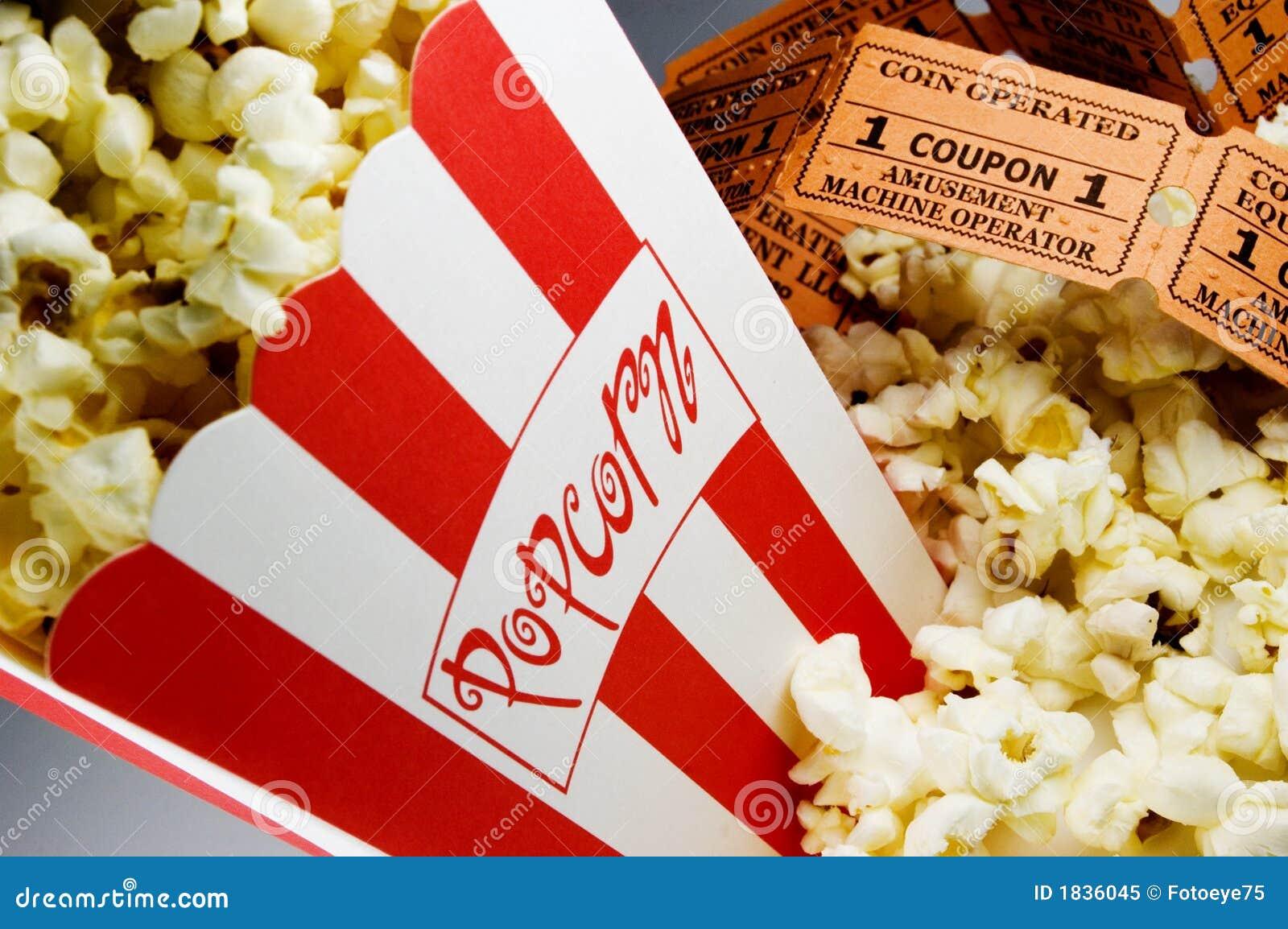 Popcornu filmu