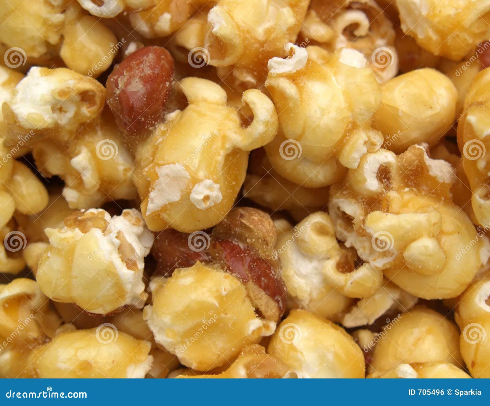 Popcornu karmelu