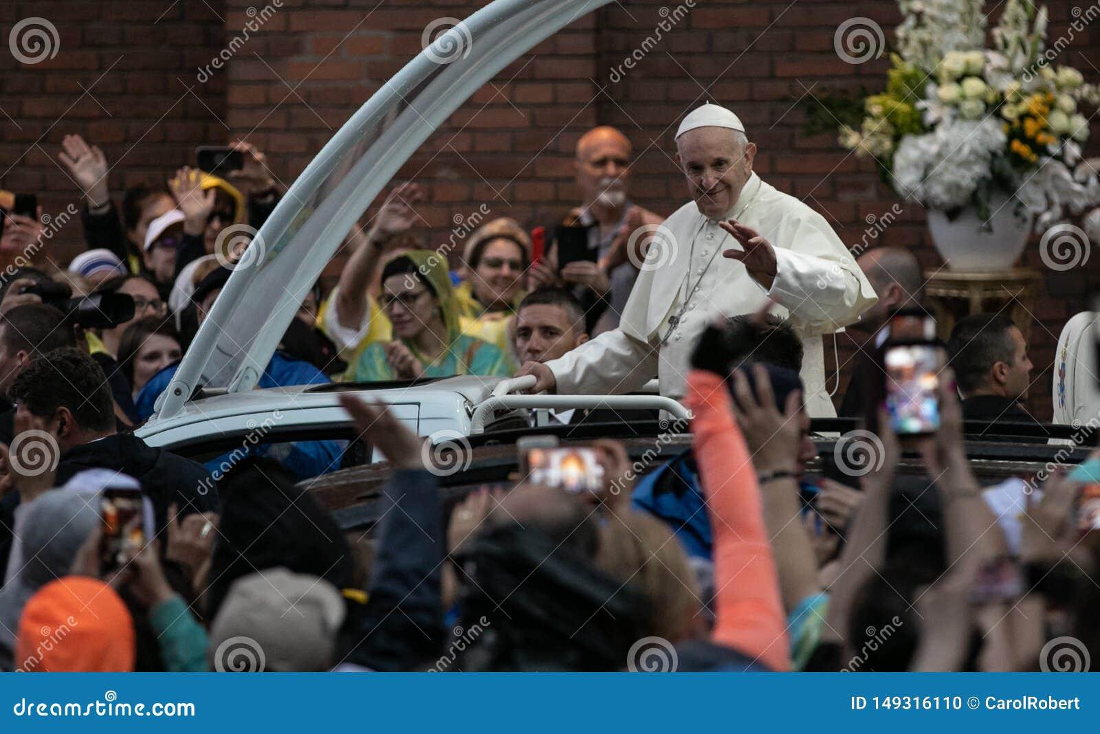 POPE FRANCIS ODWIEDZA RUMUNIA