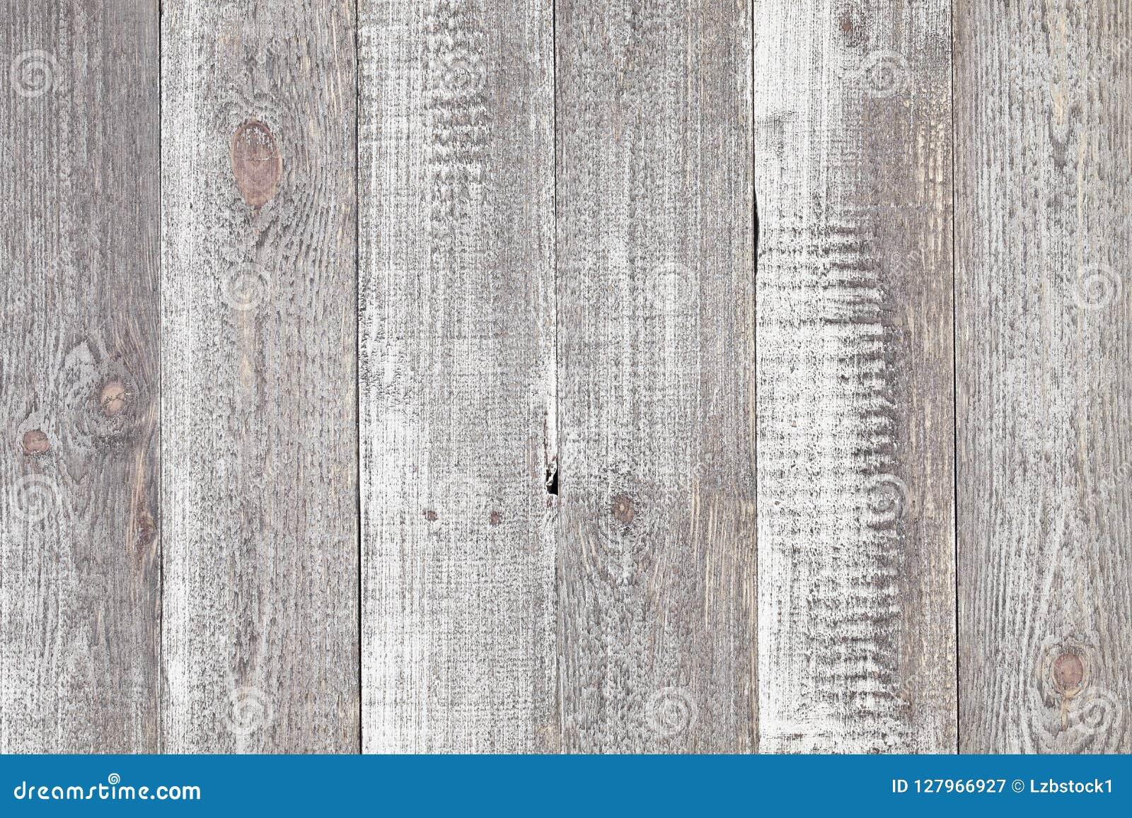 Popielaty drewniany stołowy tło Zamyka up wieśniaka drewna popielaty stół