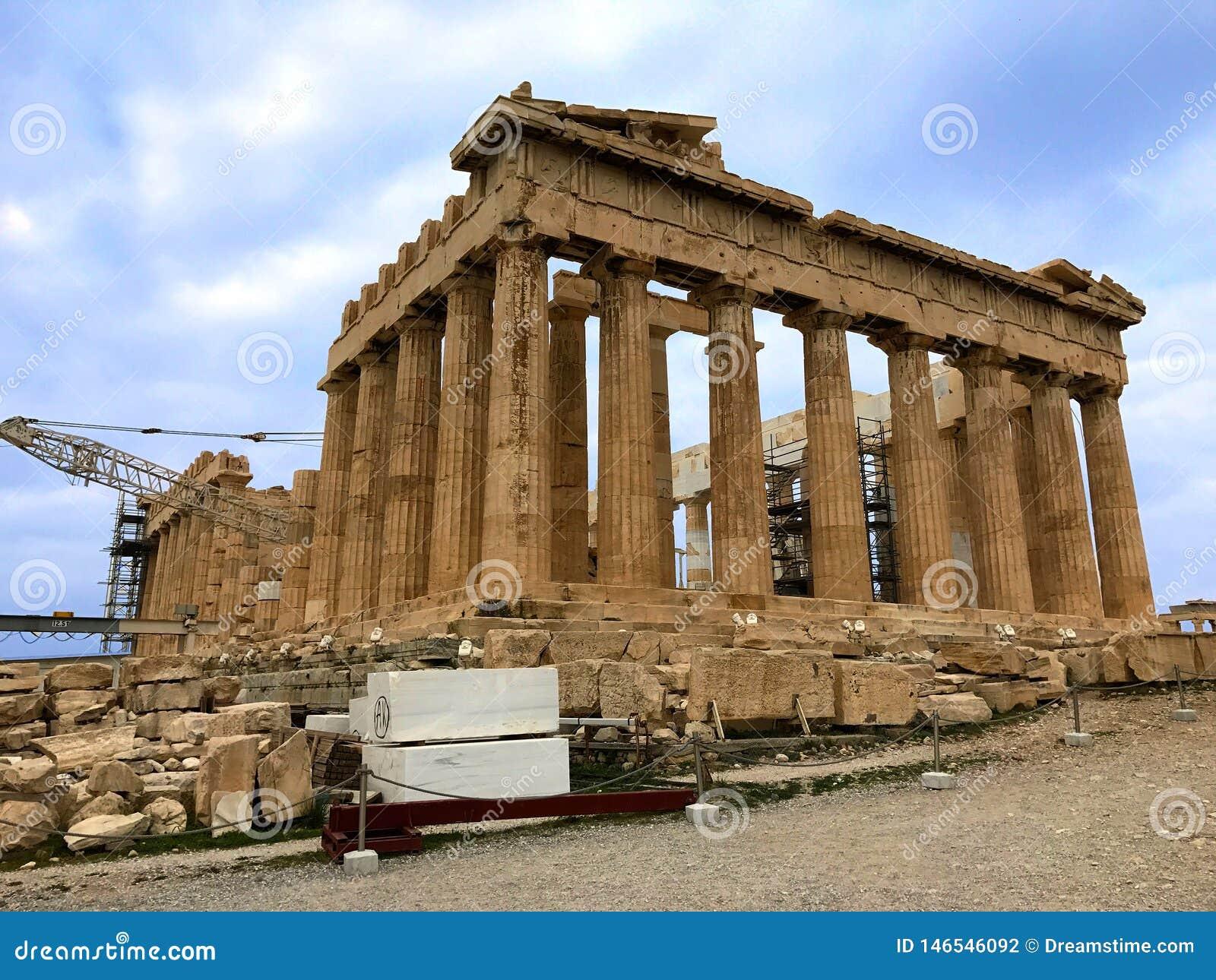 Popiera Parthenon