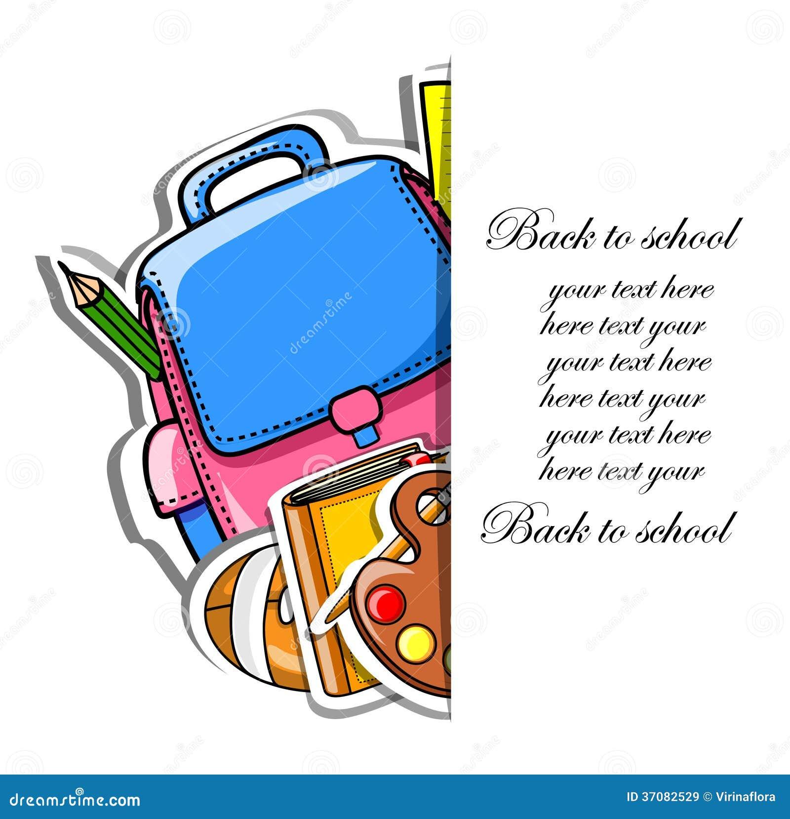 Download Popiera szkoła ilustracja wektor. Ilustracja złożonej z miłość - 37082529