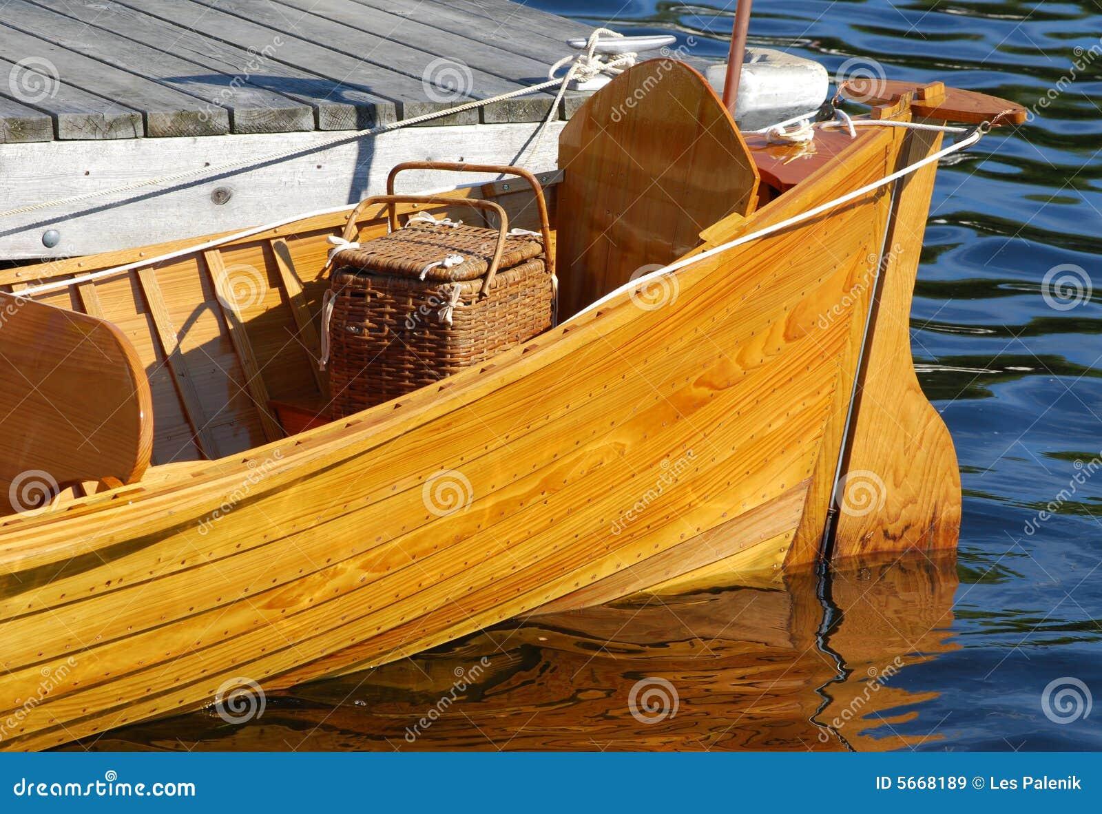 Poppa di una barca antica di legno