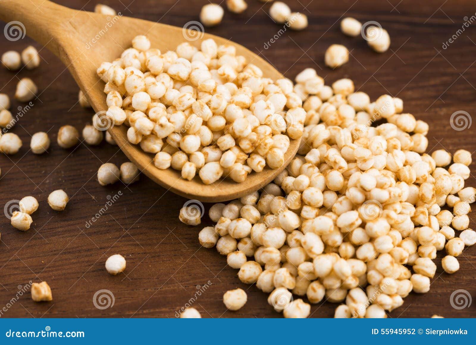 Poppa för Quinoa