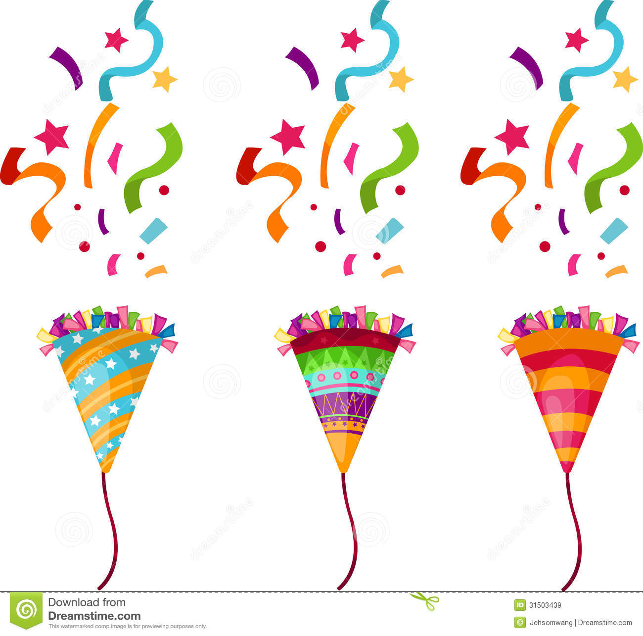 Popper Party Royalty Free Stock Images - Image: 31503439