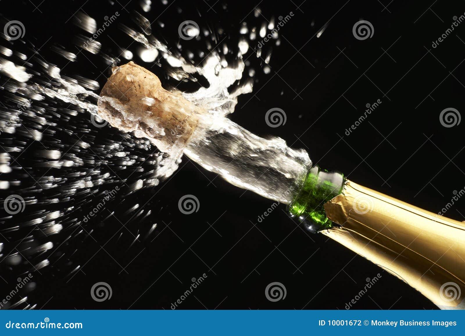 Суёт бутылку от шампанского 10 фотография