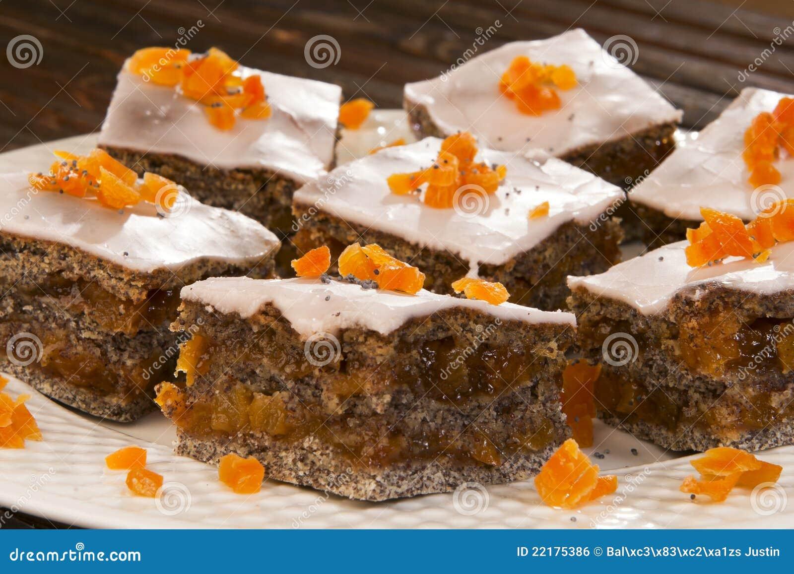 Orange And Poppy Seed Cake Sugar Free