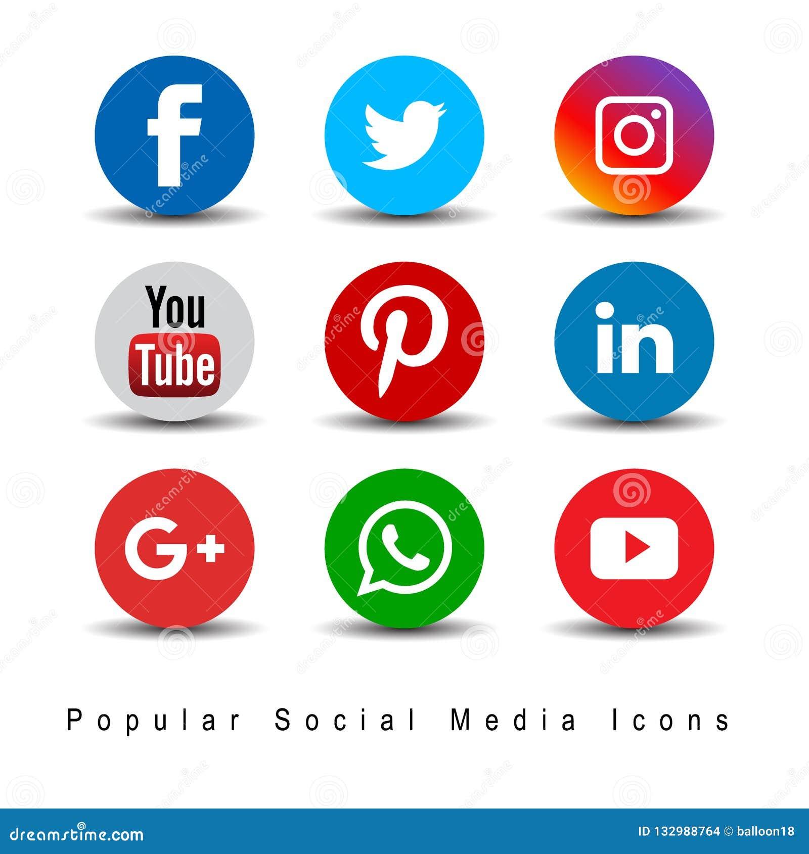 Populära sociala massmediasymboler