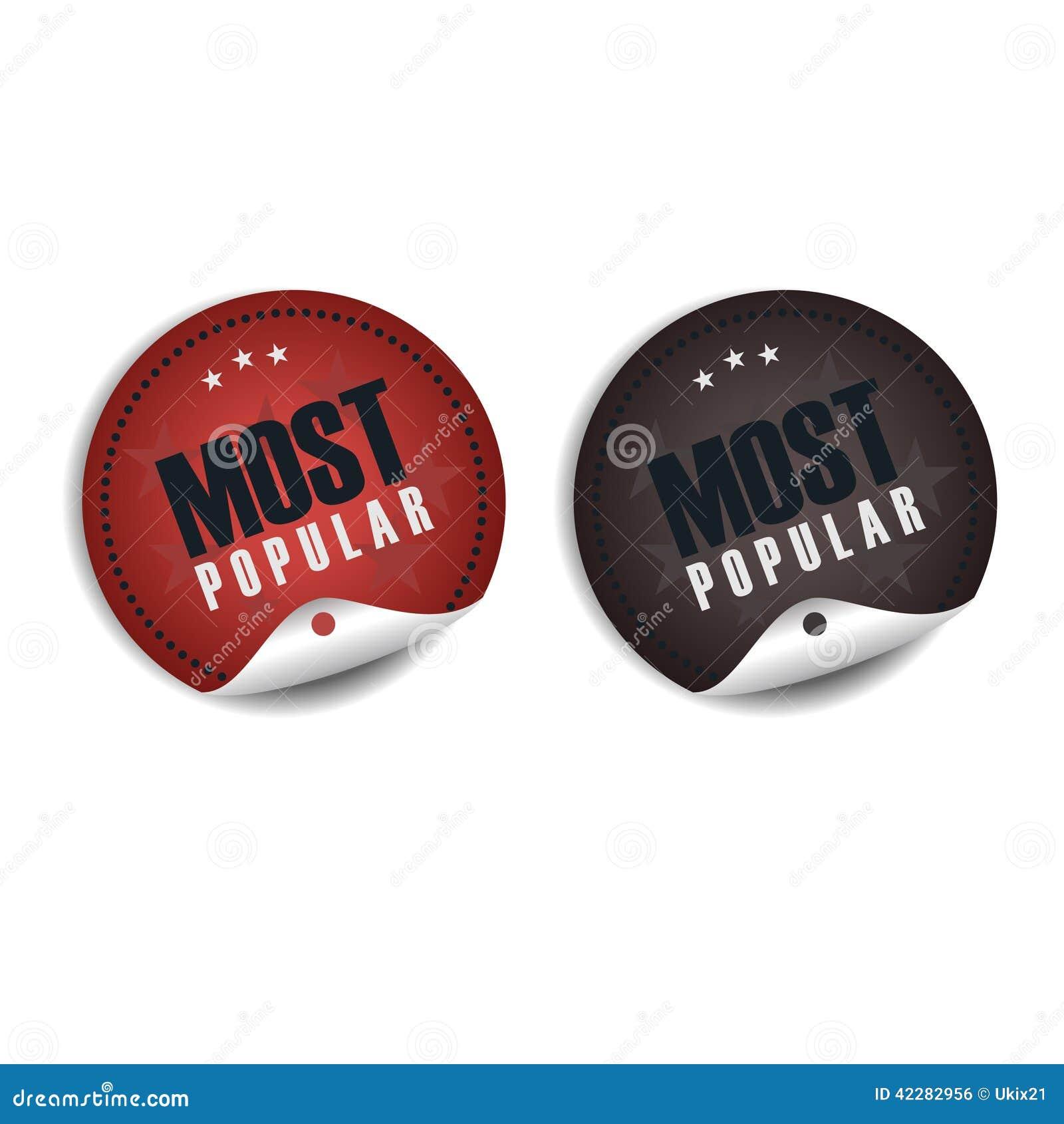 Populairste etiket