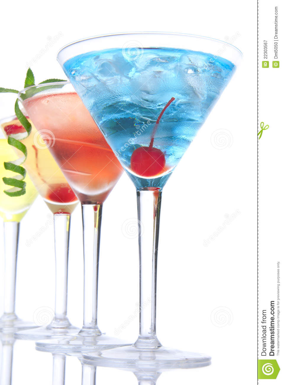 Popular alcoholic cocktails tropical martin royalty free for Great alcoholic mixed drinks