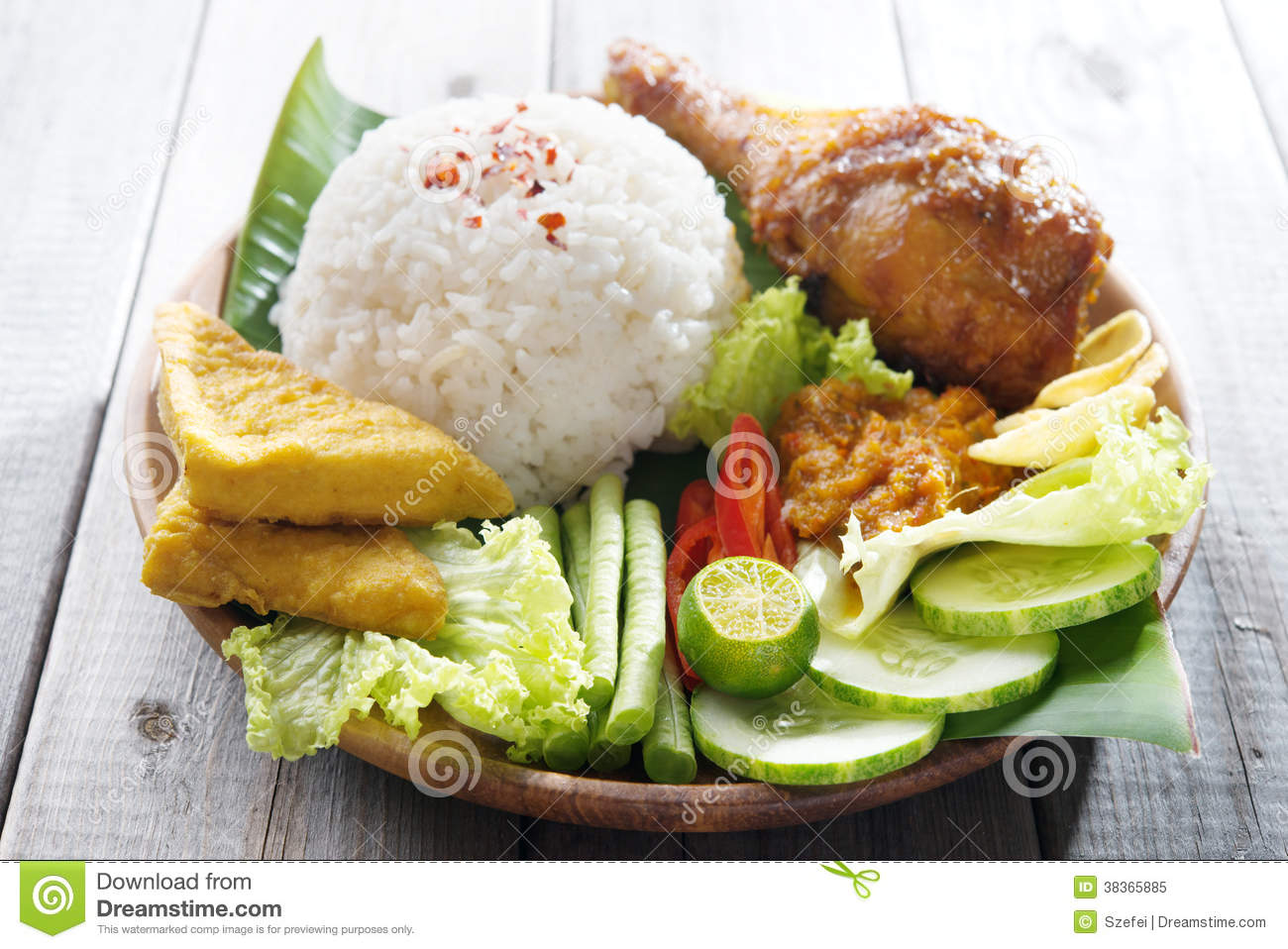 Popular indonesian local food royalty free stock photo for Authentic indonesian cuisine